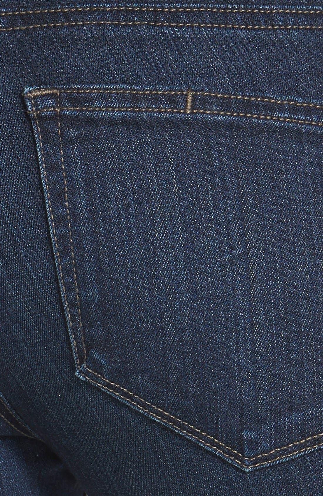 Denim 'Transcend - Edgemont' Crop Jeans,                             Alternate thumbnail 2, color,