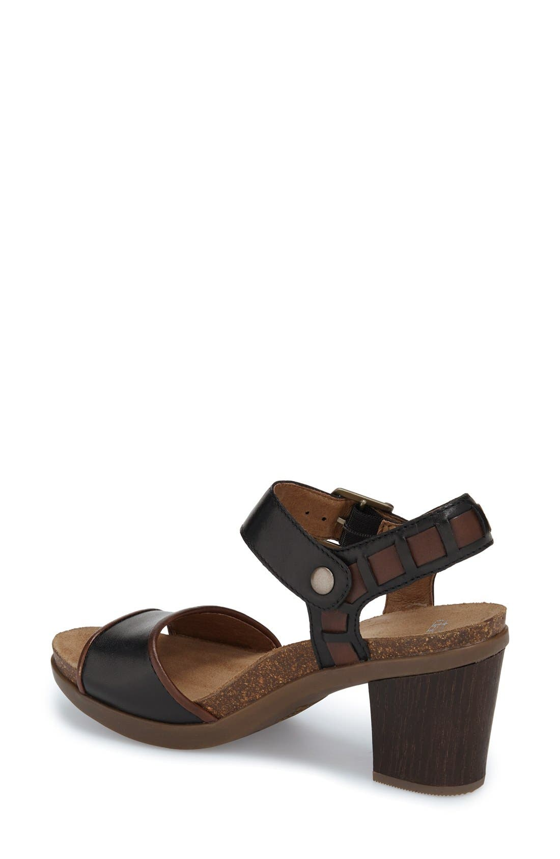 'Debby' Platform Sandal,                             Alternate thumbnail 5, color,