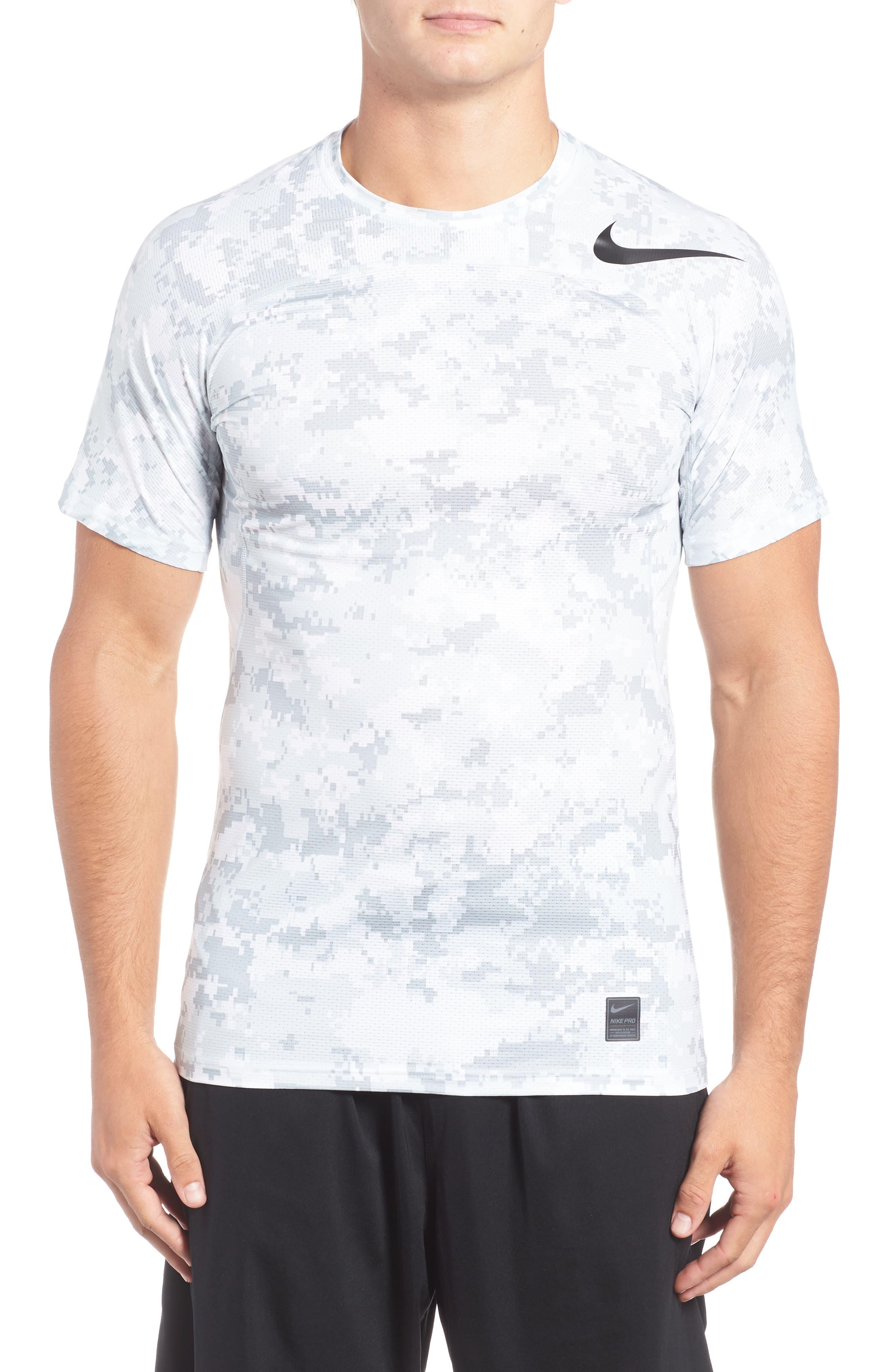 Pro Hypercool Seamless T-Shirt,                             Main thumbnail 1, color,                             100