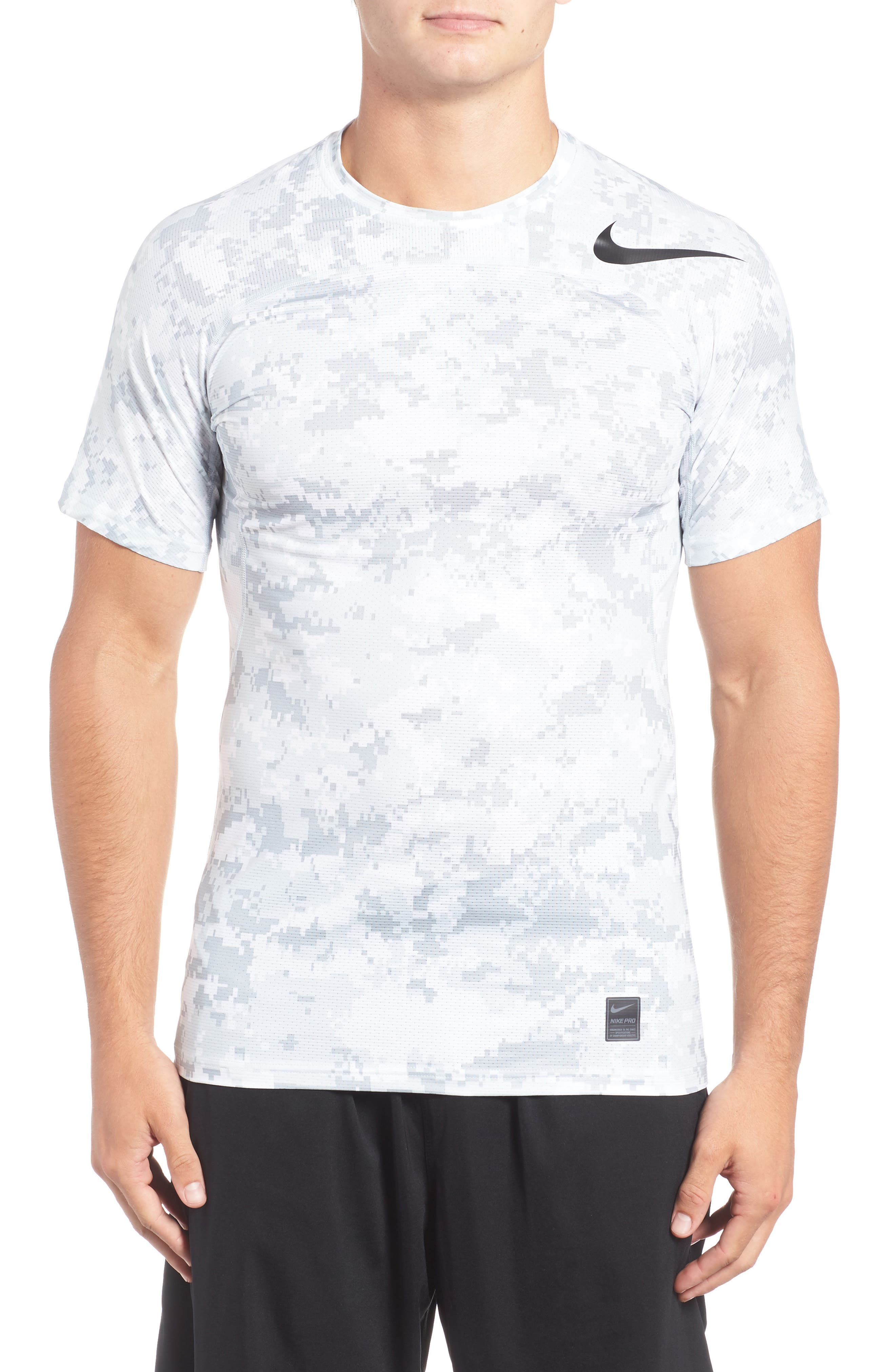 Pro Hypercool Seamless T-Shirt,                         Main,                         color, 100