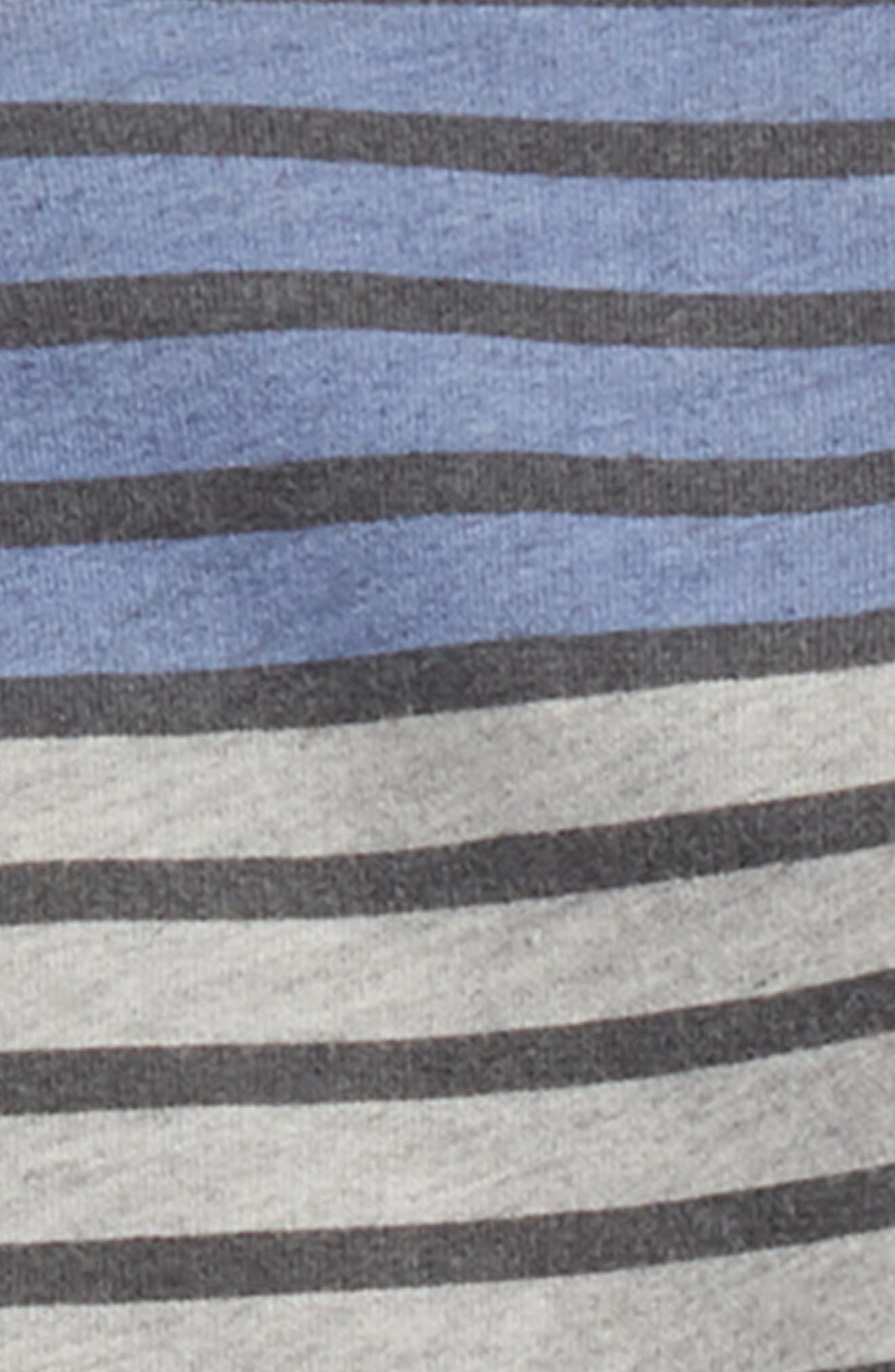 Stripe French Terry Sweatshirt & Pants Set,                             Alternate thumbnail 2, color,                             051