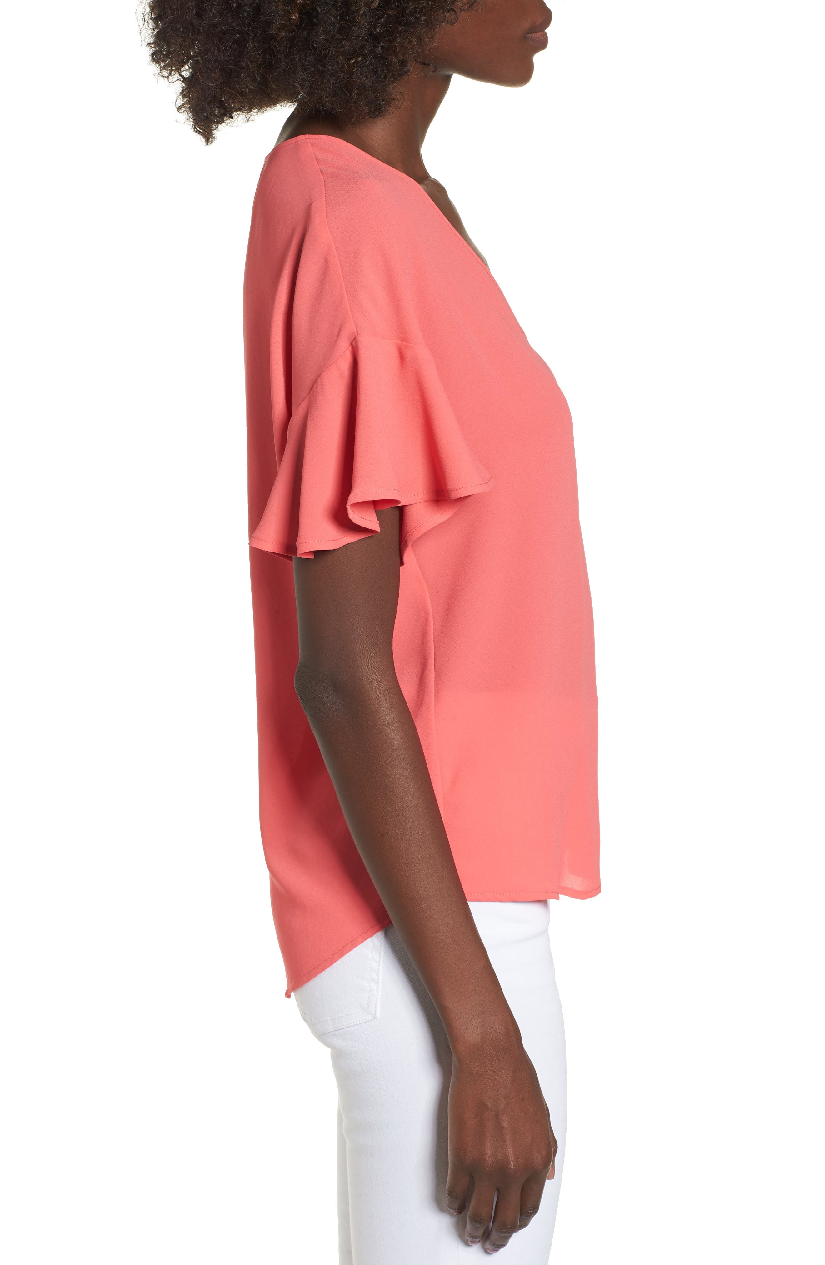 Crepe Tee,                             Alternate thumbnail 24, color,