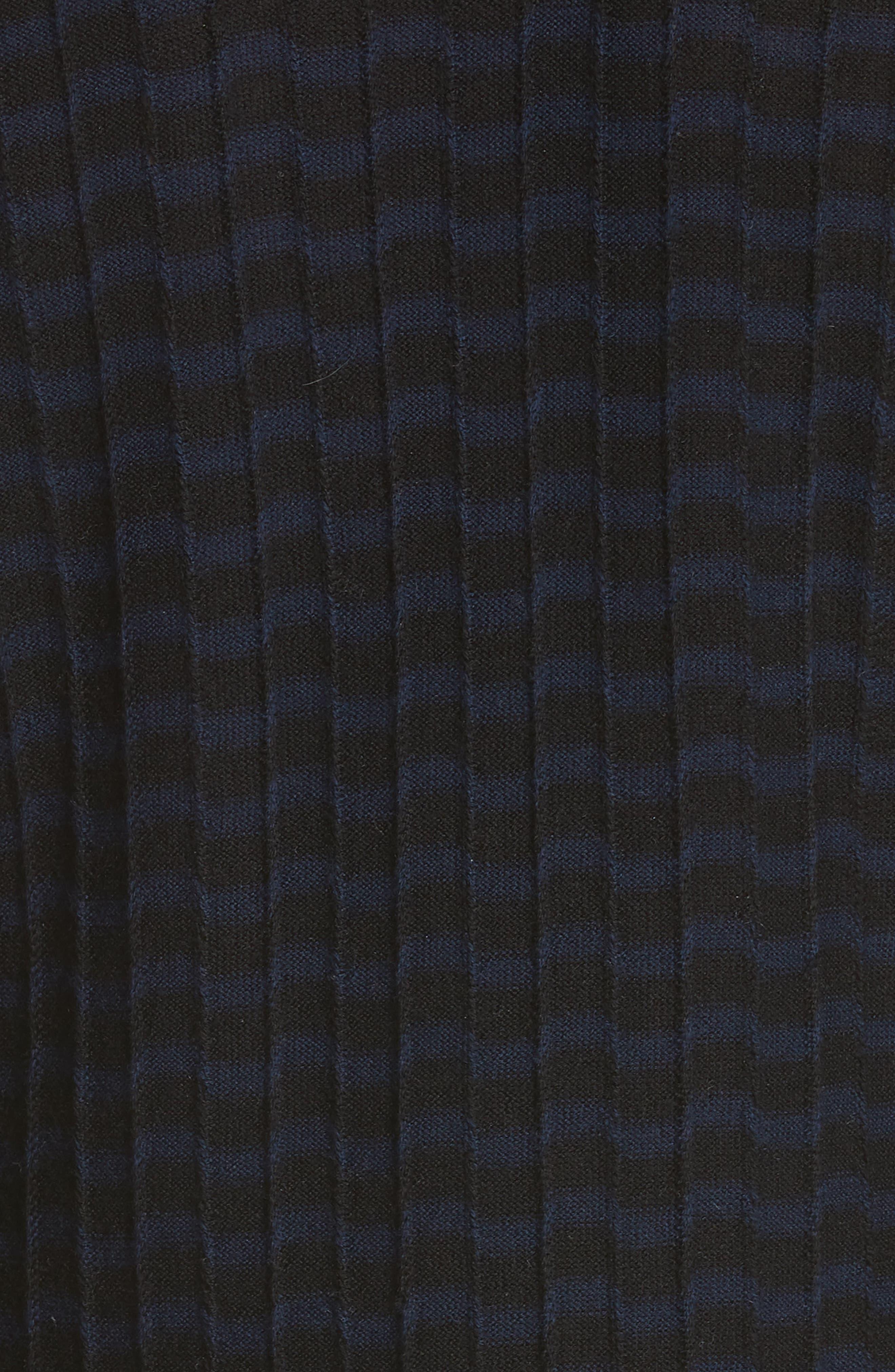 Stripe Wool Sweater-Dress,                             Alternate thumbnail 6, color,                             400