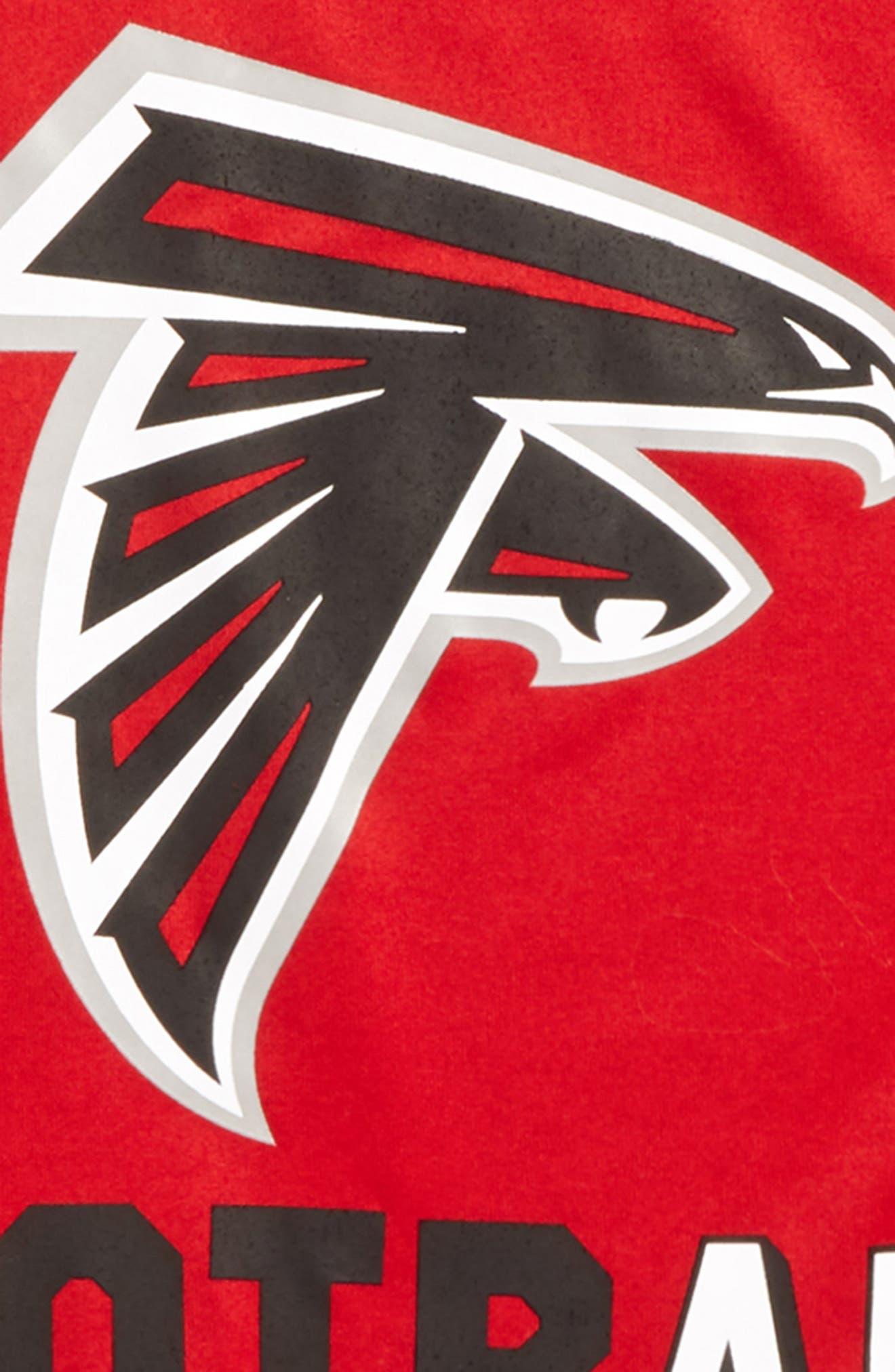 Nike NFL Logo - Atlanta Falcons Dry T-Shirt,                             Alternate thumbnail 2, color,                             615
