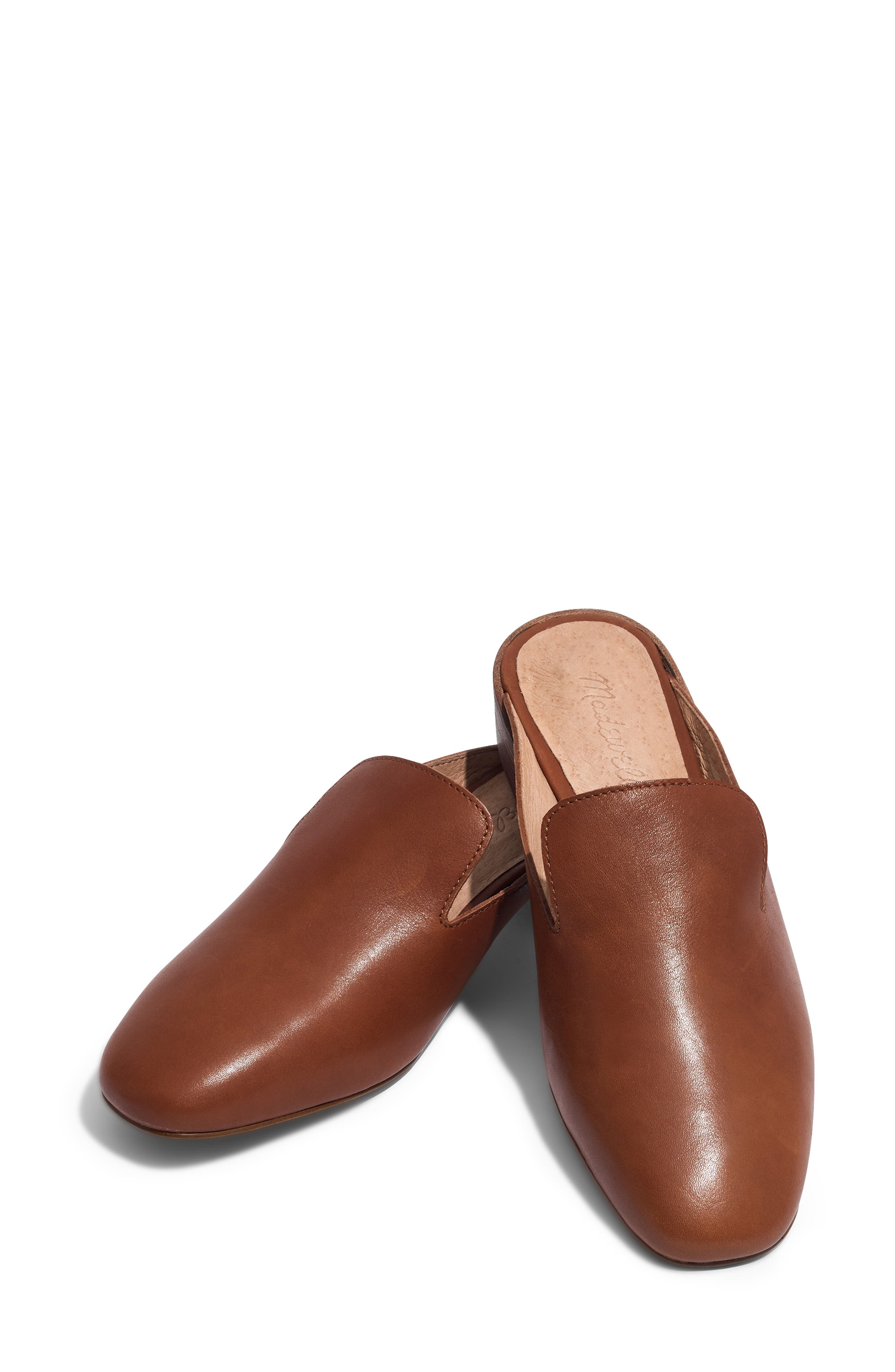The Willa Loafer Mule,                             Alternate thumbnail 7, color,                             ENGLISH SADDLE VINTAGE LEATHER