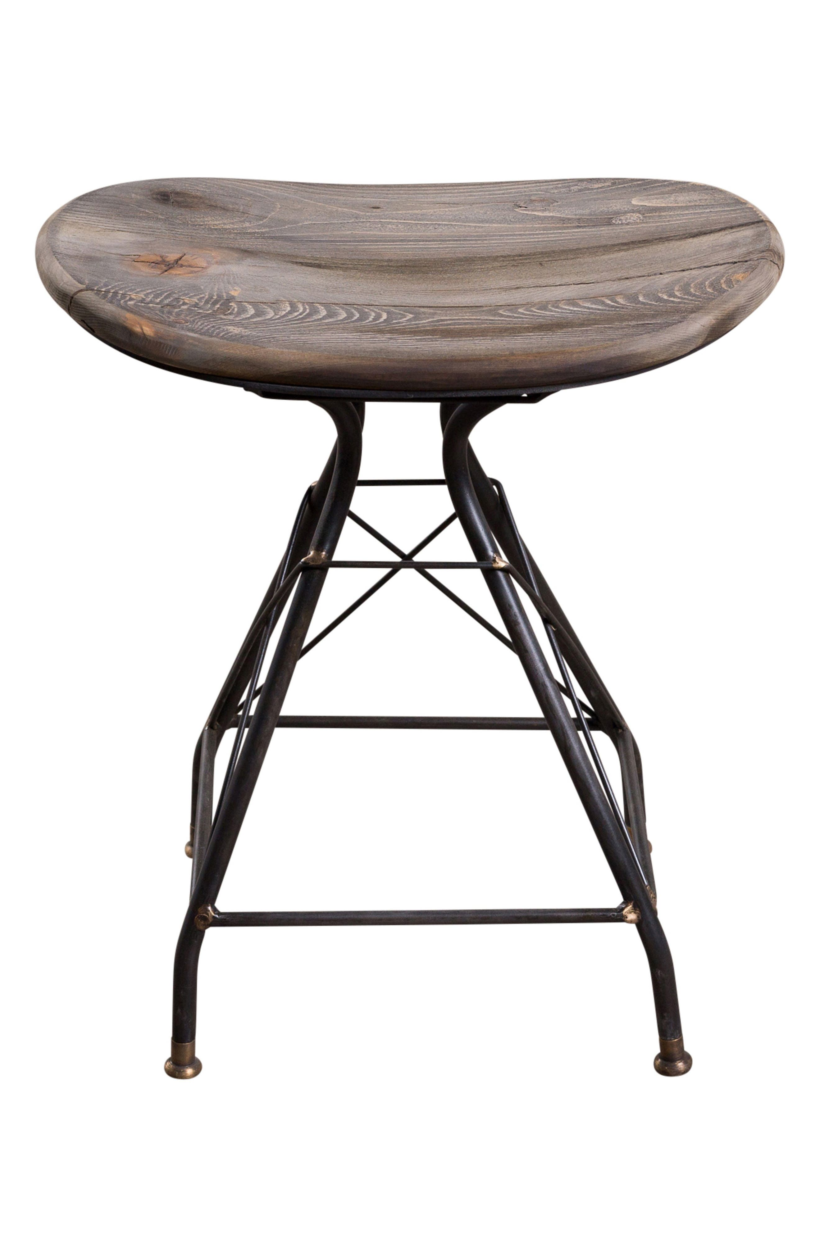 Goa Stool,                             Main thumbnail 1, color,                             SMOKY PINE