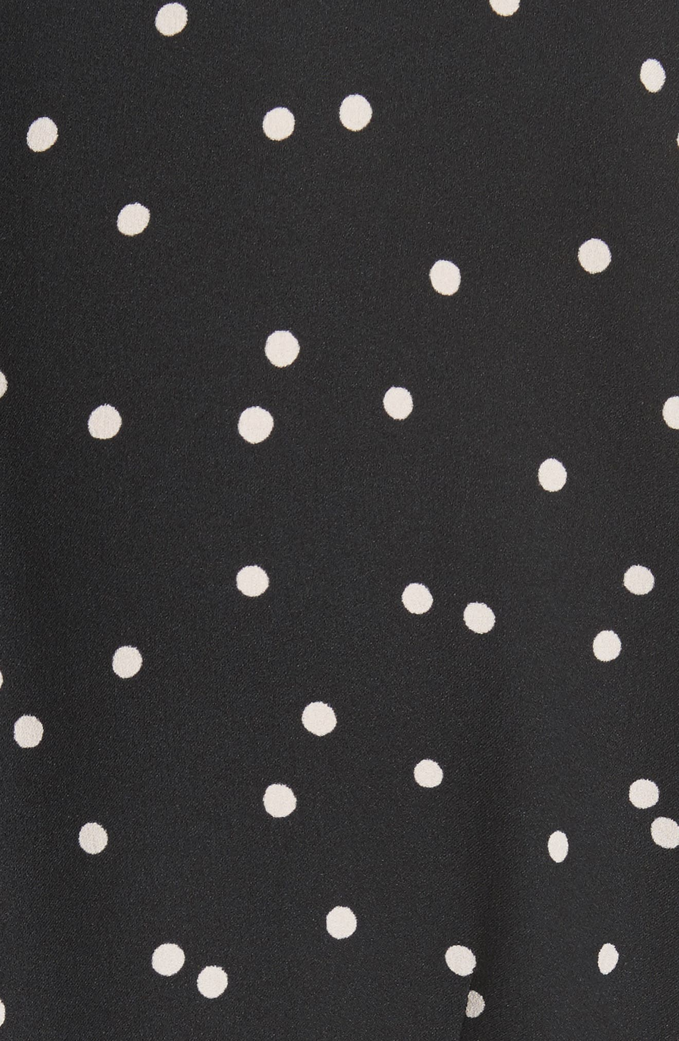 scatter dot shirtdress,                             Alternate thumbnail 5, color,                             001