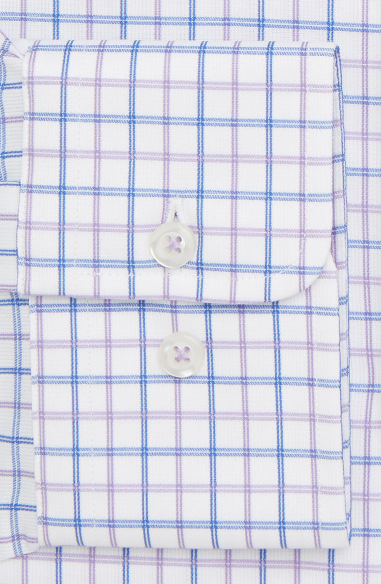 Regular Fit Check Dress Shirt,                             Alternate thumbnail 6, color,                             534