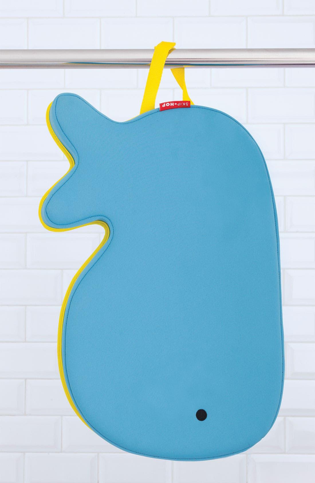 'Moby' Bath Kneeler,                             Alternate thumbnail 5, color,                             BLUE W/ YELLOW TRIM