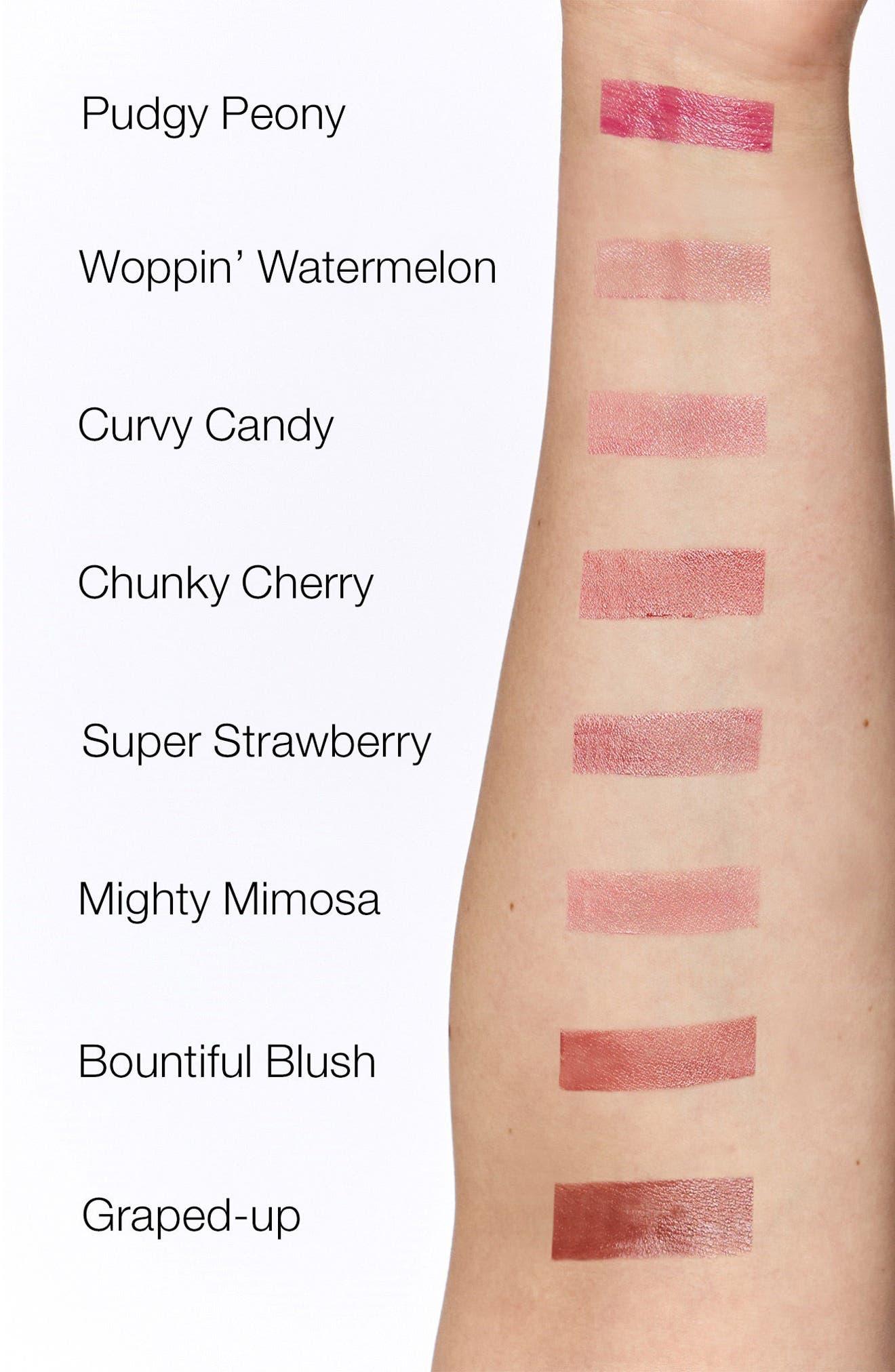 CLINIQUE,                             Chubby Stick Moisturizing Lip Color Balm,                             Alternate thumbnail 3, color,                             RICHER RAISIN