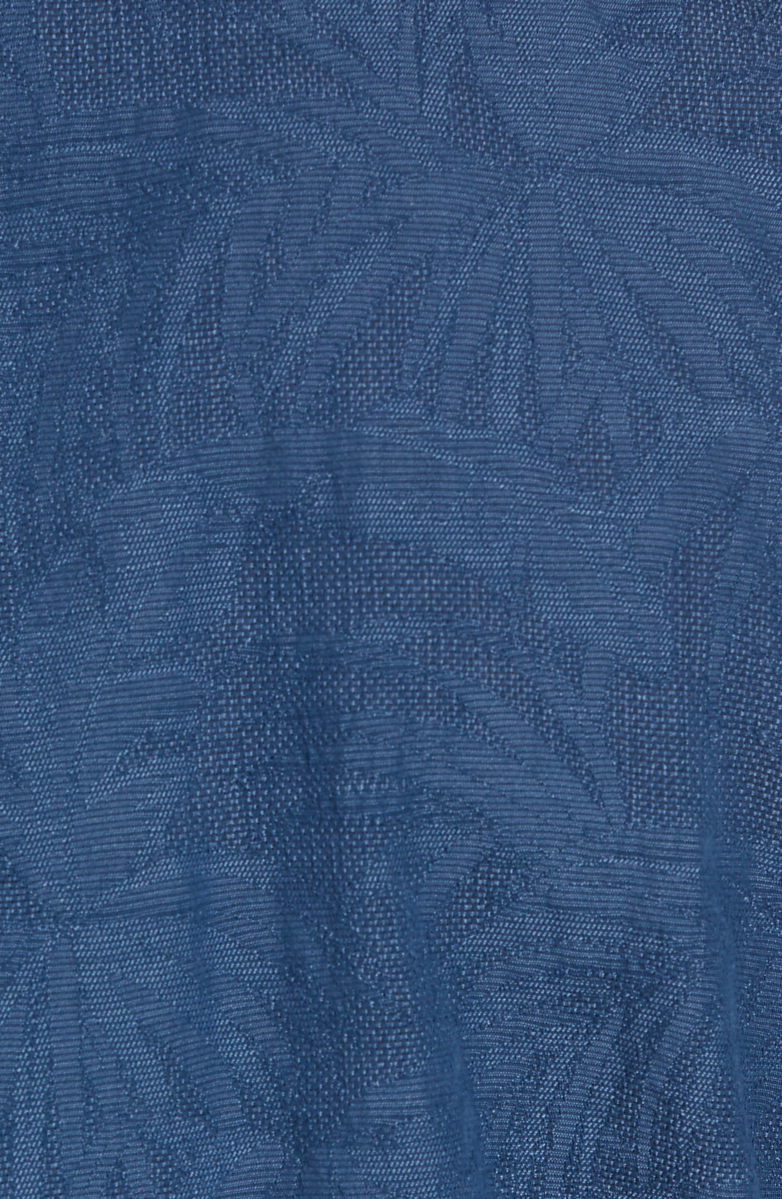 Desert Fronds Sport Shirt,                             Alternate thumbnail 5, color,                             402