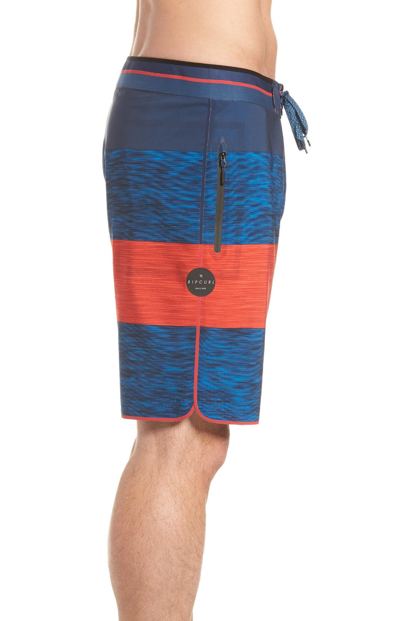 Mirage Bends Ultimate Board Shorts,                             Alternate thumbnail 3, color,                             NAVY