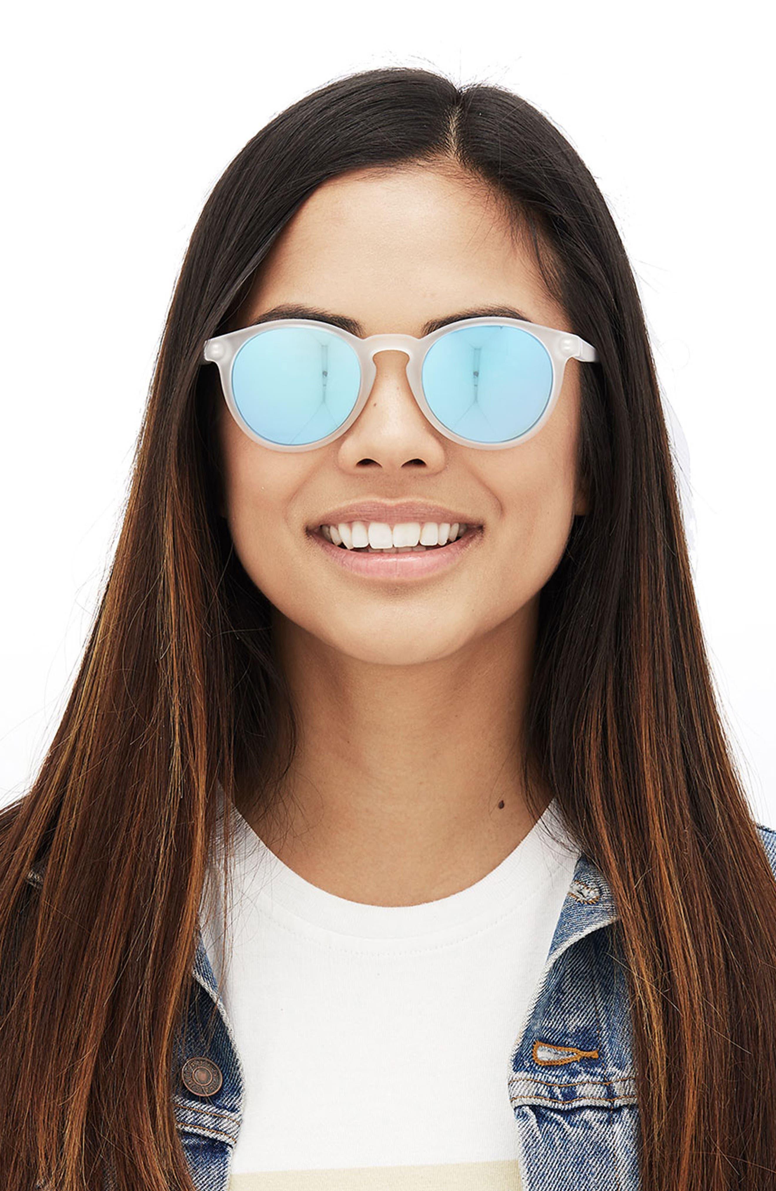 Dipsea 48mm Polarized Sunglasses,                             Alternate thumbnail 8, color,                             TORTOISE EMERALD