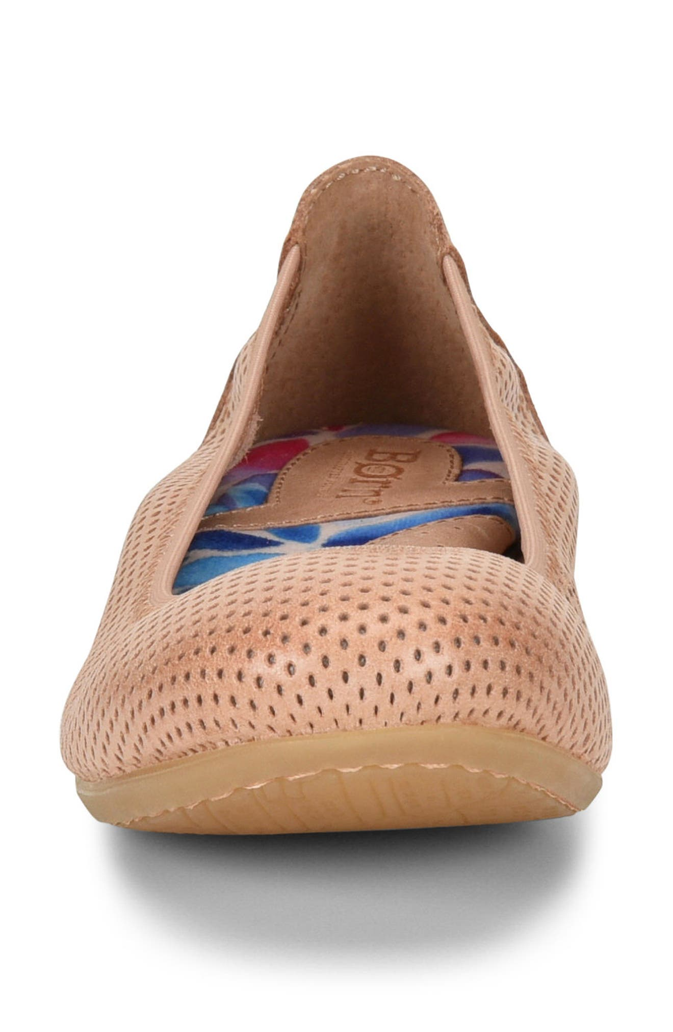 Julianne Perforated Flat,                             Alternate thumbnail 16, color,