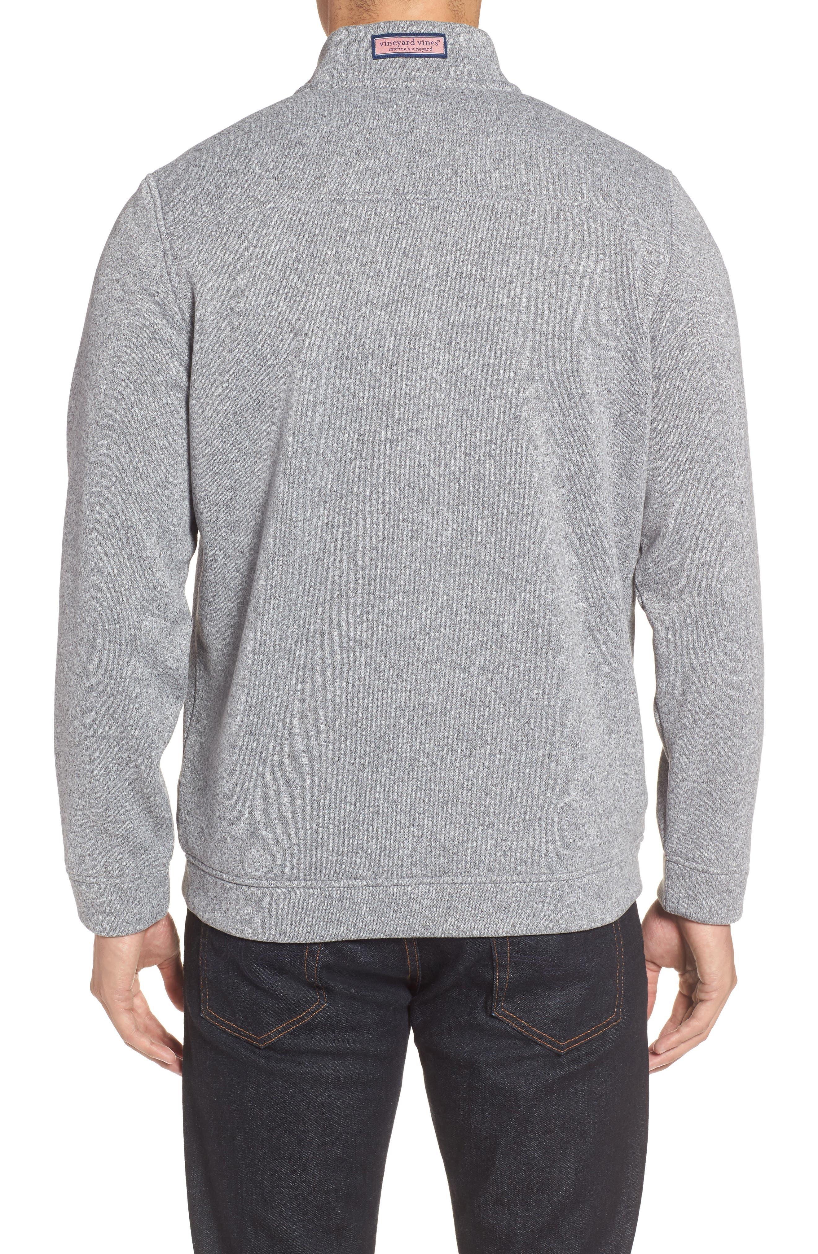 Shep Sweater Fleece Quarter Zip Pullover,                             Alternate thumbnail 3, color,