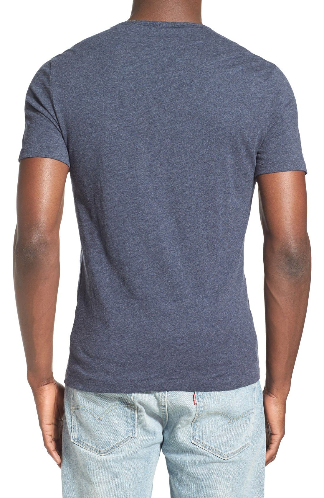 'Bing' V-Neck Pocket T-Shirt,                             Alternate thumbnail 15, color,