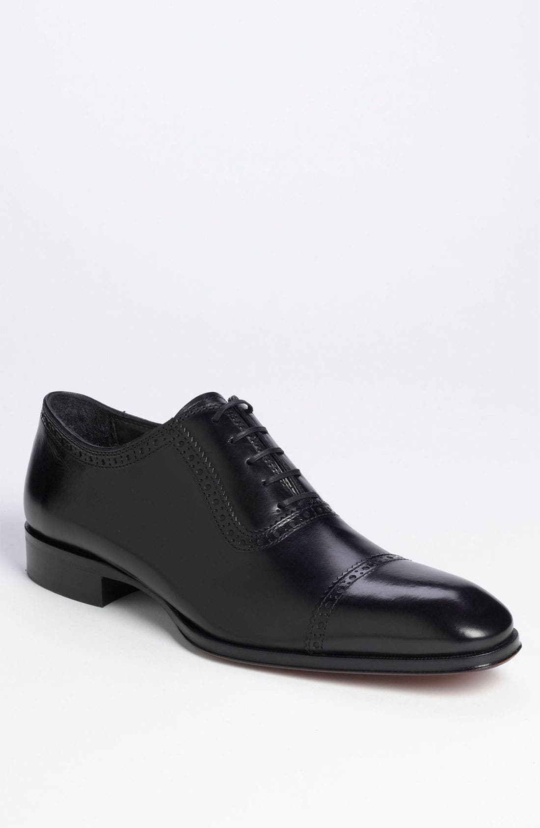 TO BOOT NEW YORK 'Warwick' Cap Toe Oxford, Main, color, 001