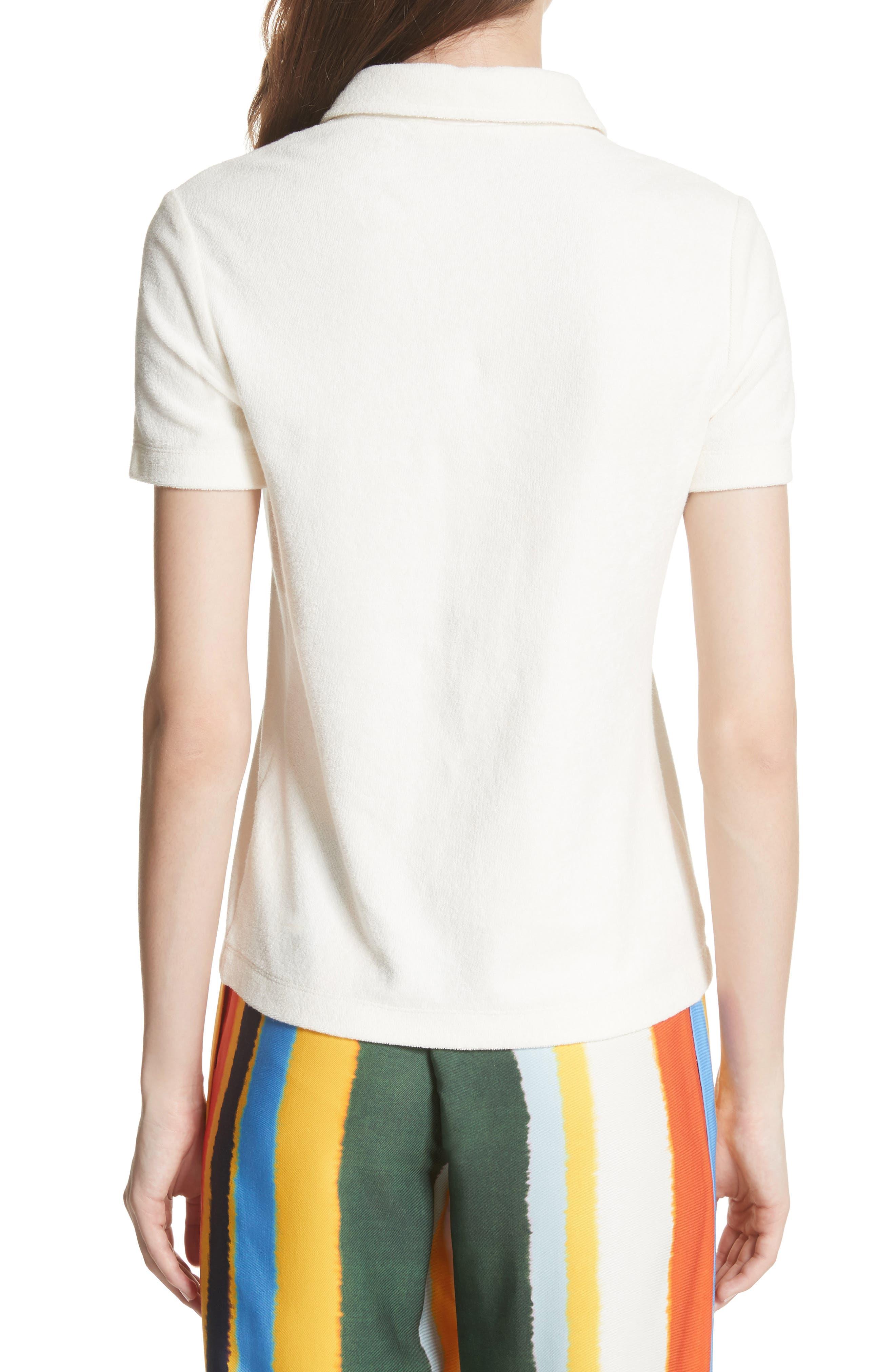 Lennox Terry Cloth Polo,                             Alternate thumbnail 2, color,                             104