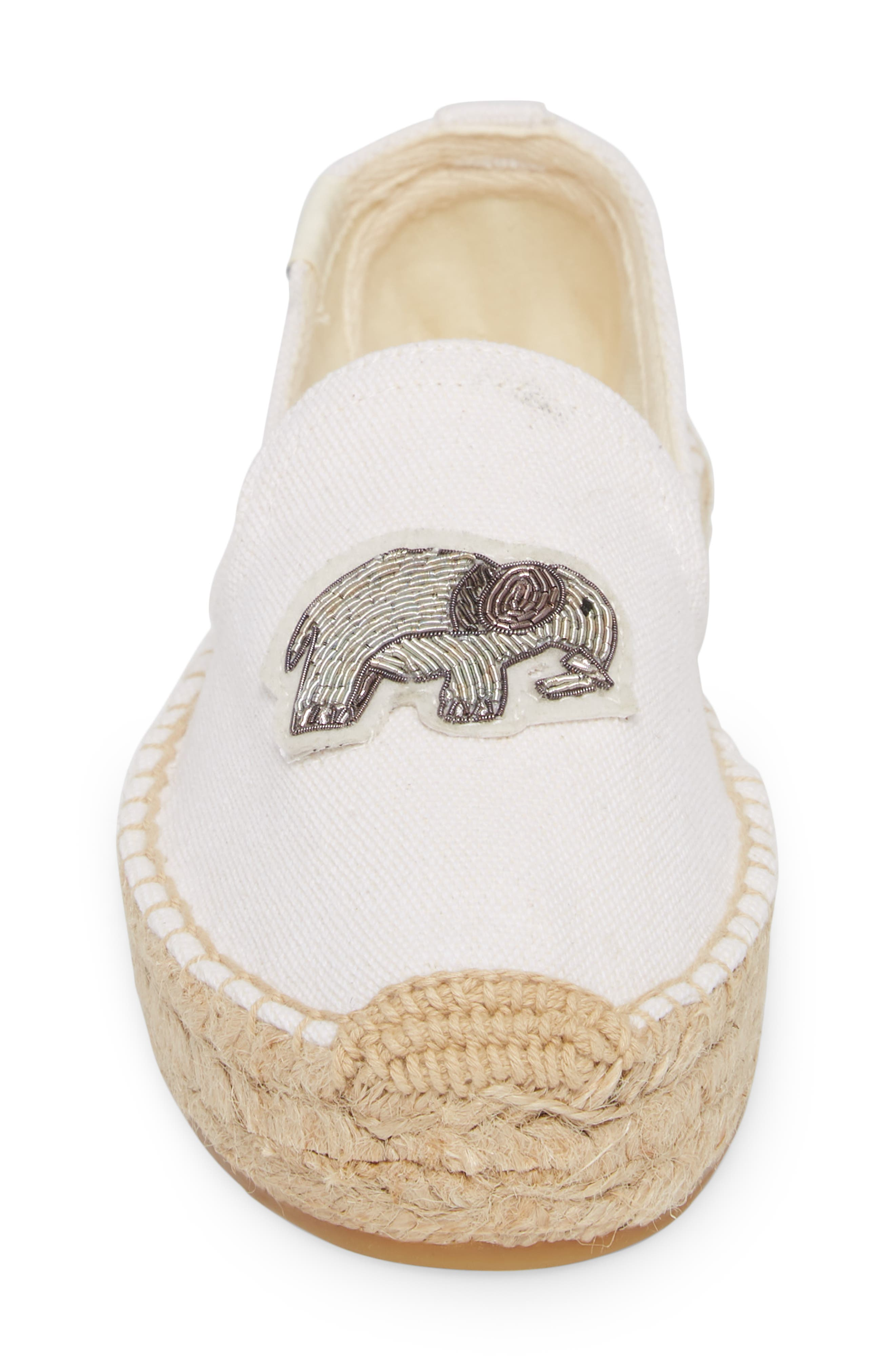 Beaded Elephant Slip-On,                             Alternate thumbnail 4, color,                             100