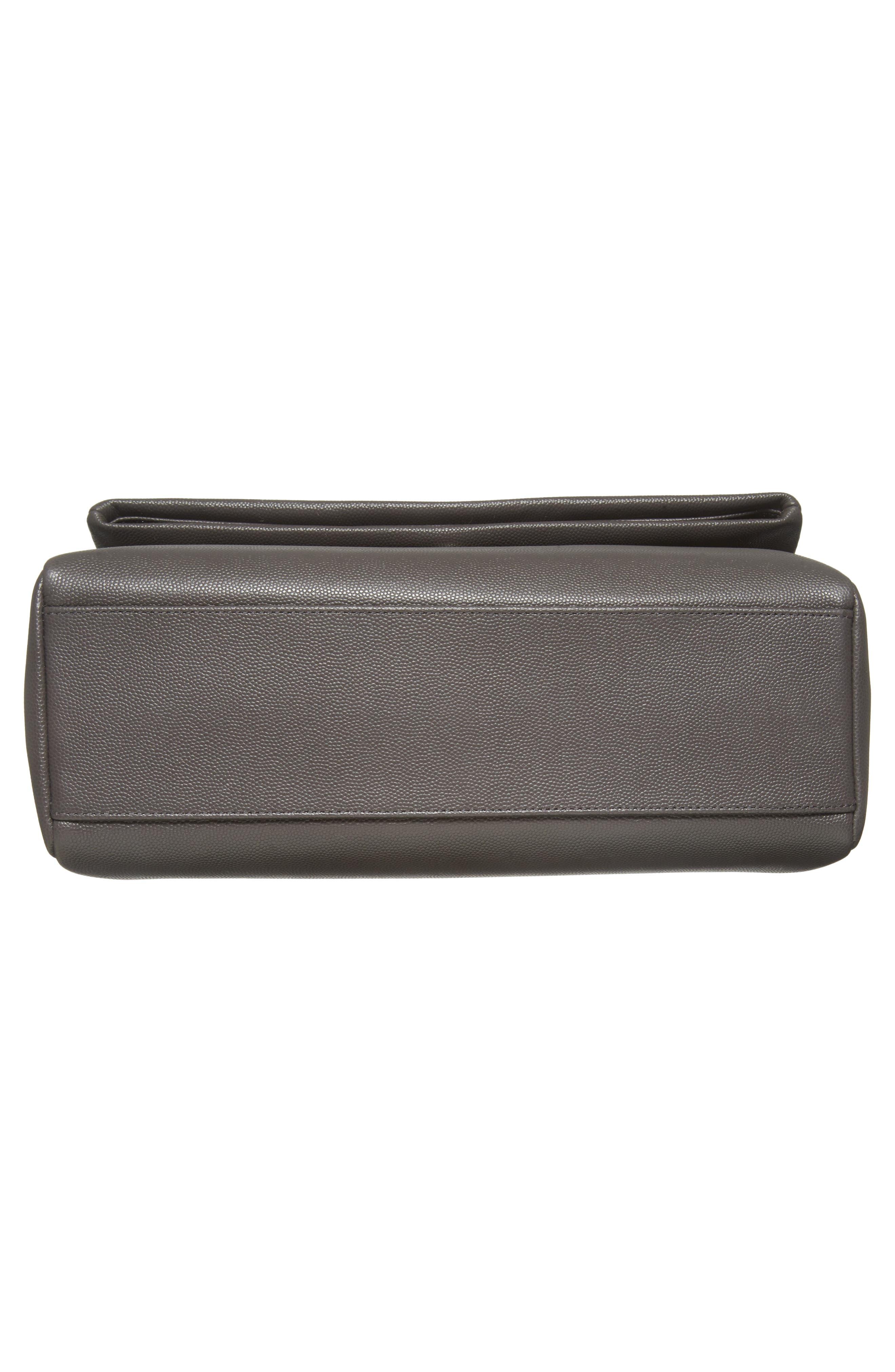 Medium West Hollywood Leather Shoulder Bag,                             Alternate thumbnail 6, color,                             064