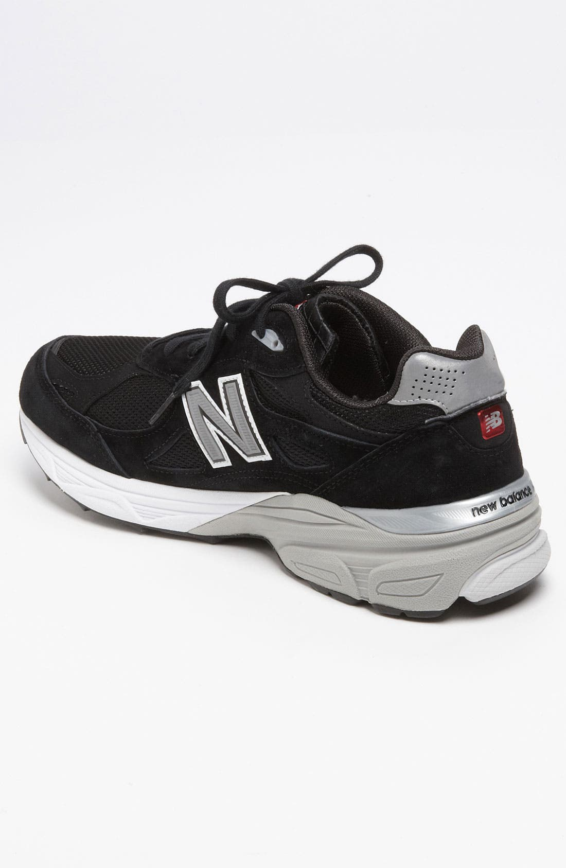 NEW BALANCE,                             '990' Running Shoe,                             Alternate thumbnail 3, color,                             001