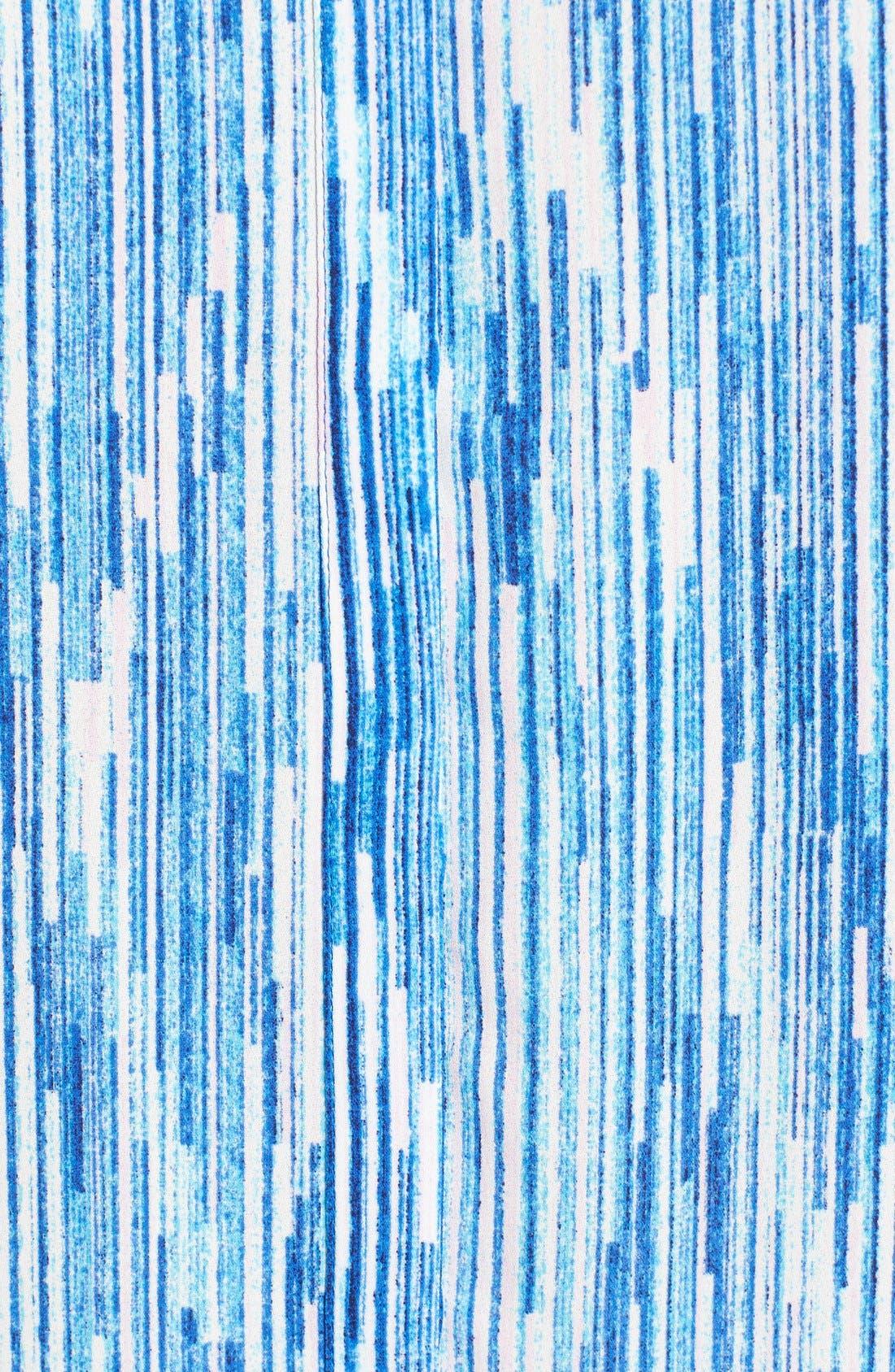 Pleat Back Sleeveless Split Neck Blouse,                             Alternate thumbnail 162, color,