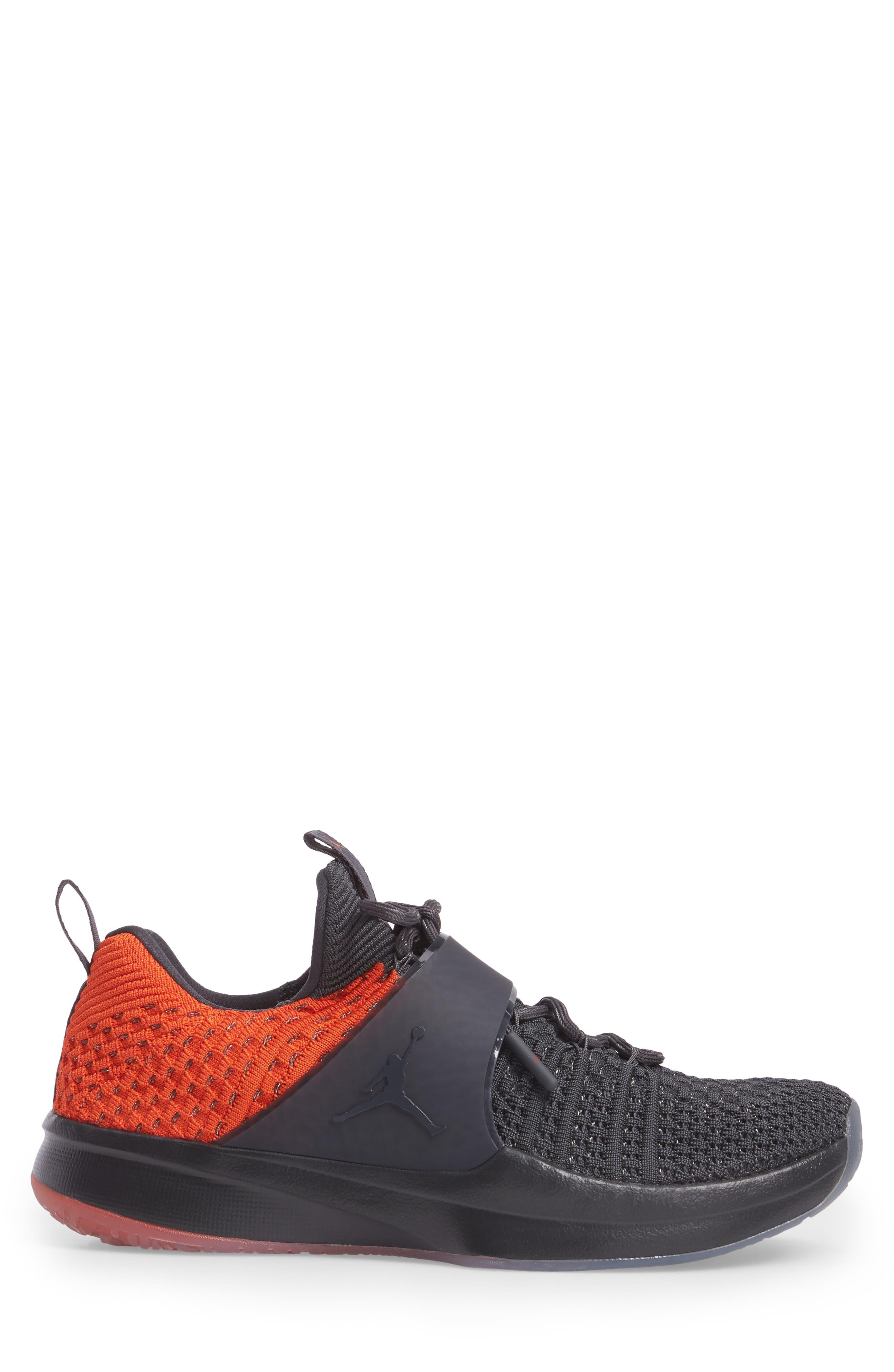 Jordan Flyknit Trainer 2 Low Sneaker,                             Alternate thumbnail 12, color,