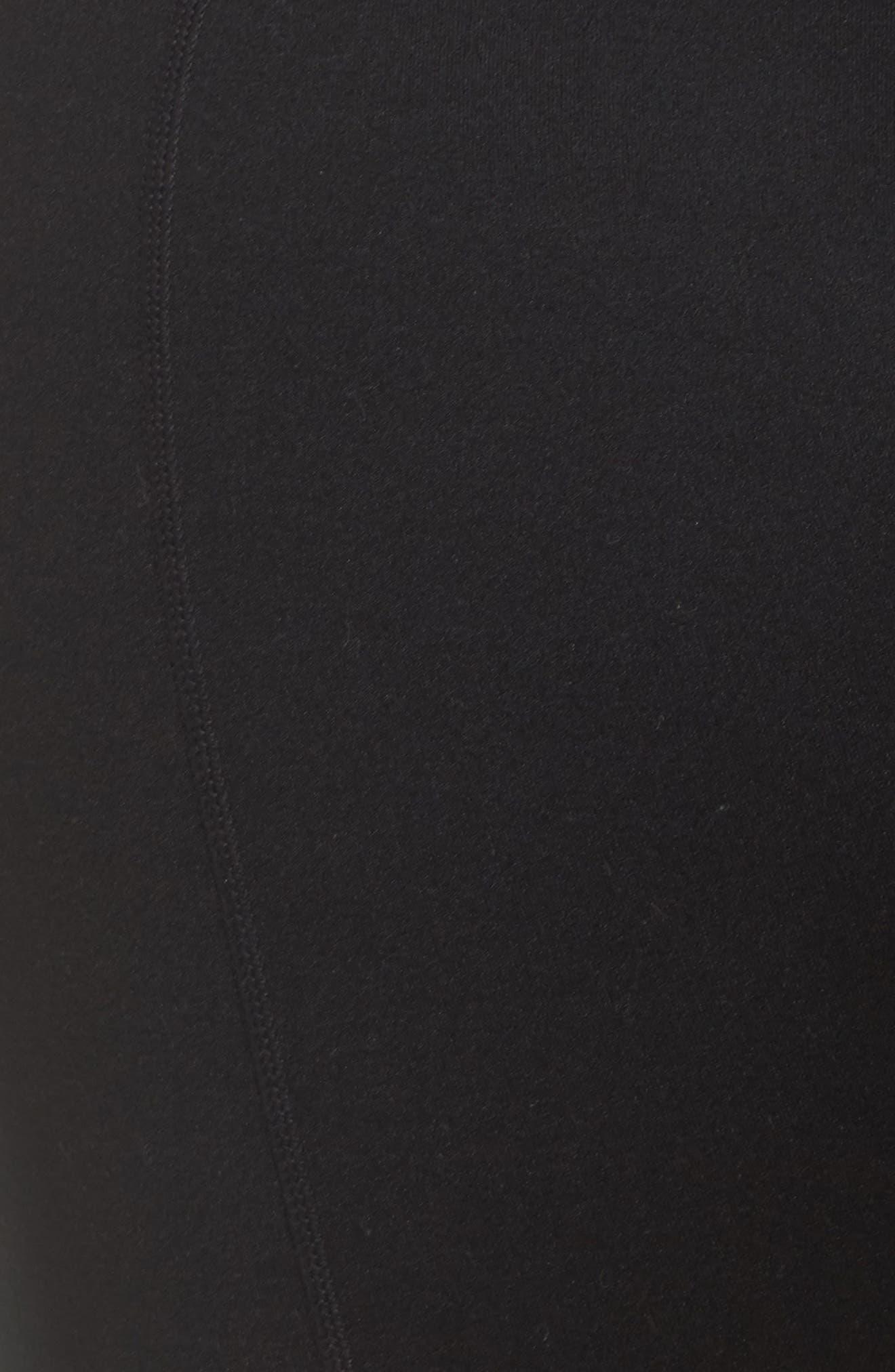 Vertigo High Waist Crop Leggings,                             Alternate thumbnail 5, color,                             501