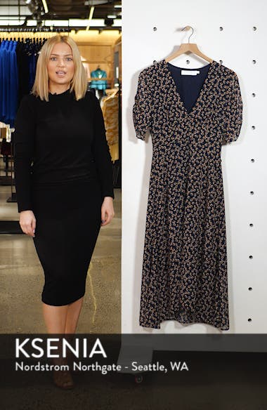 Button Front Midi Dress, sales video thumbnail