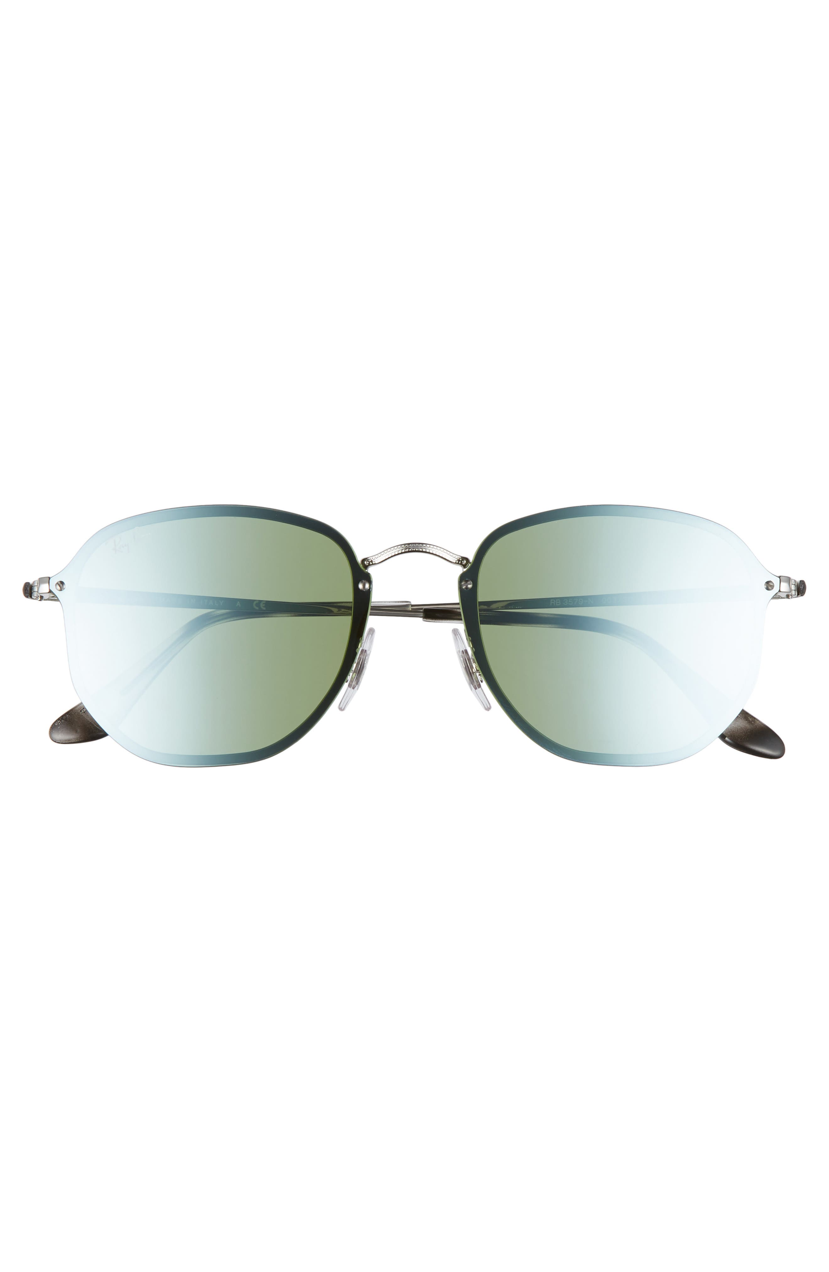 Rimless 58mm Sunglasses,                             Alternate thumbnail 2, color,                             041