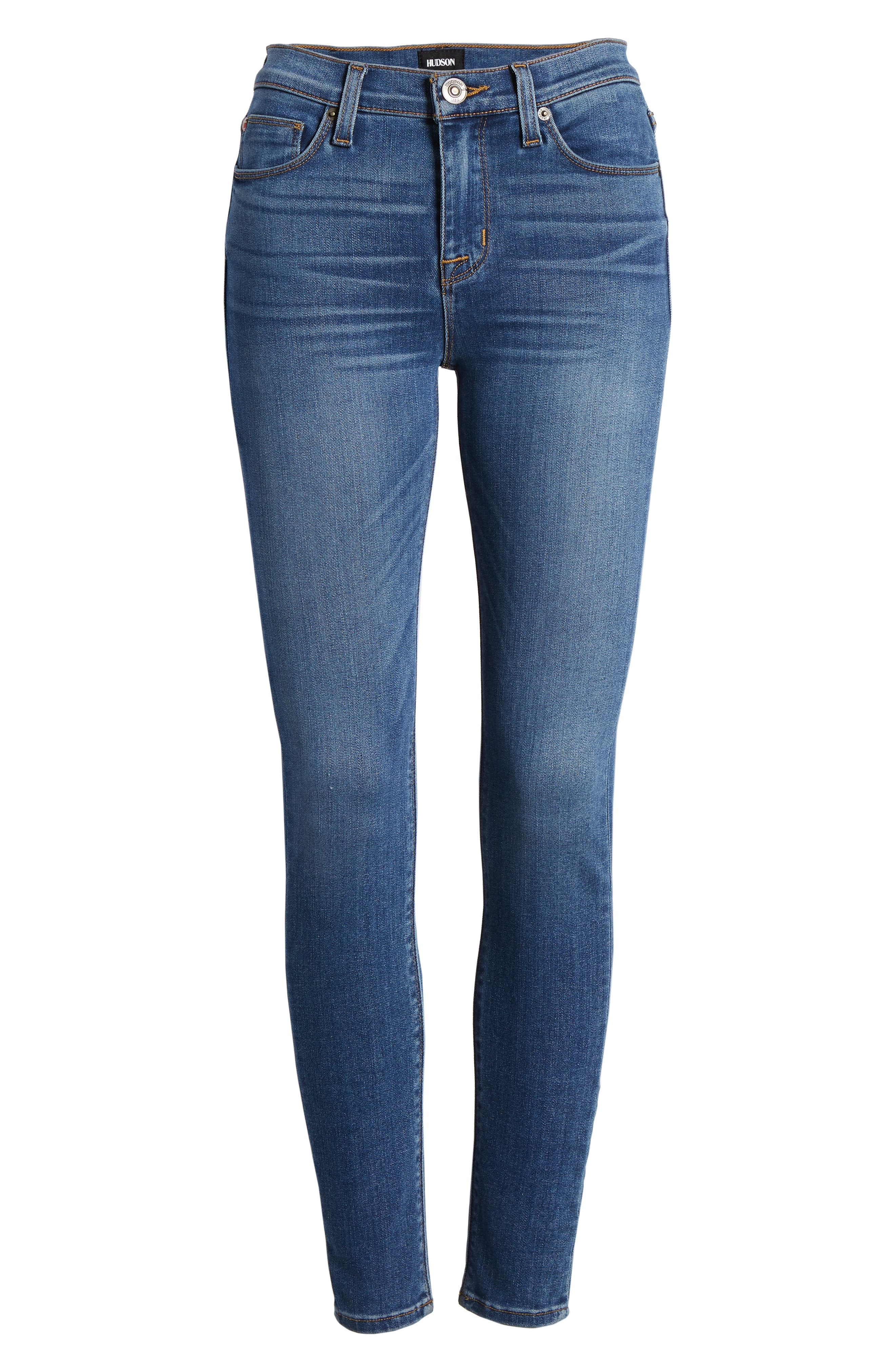 'Nico' Ankle Skinny Jeans,                             Alternate thumbnail 38, color,