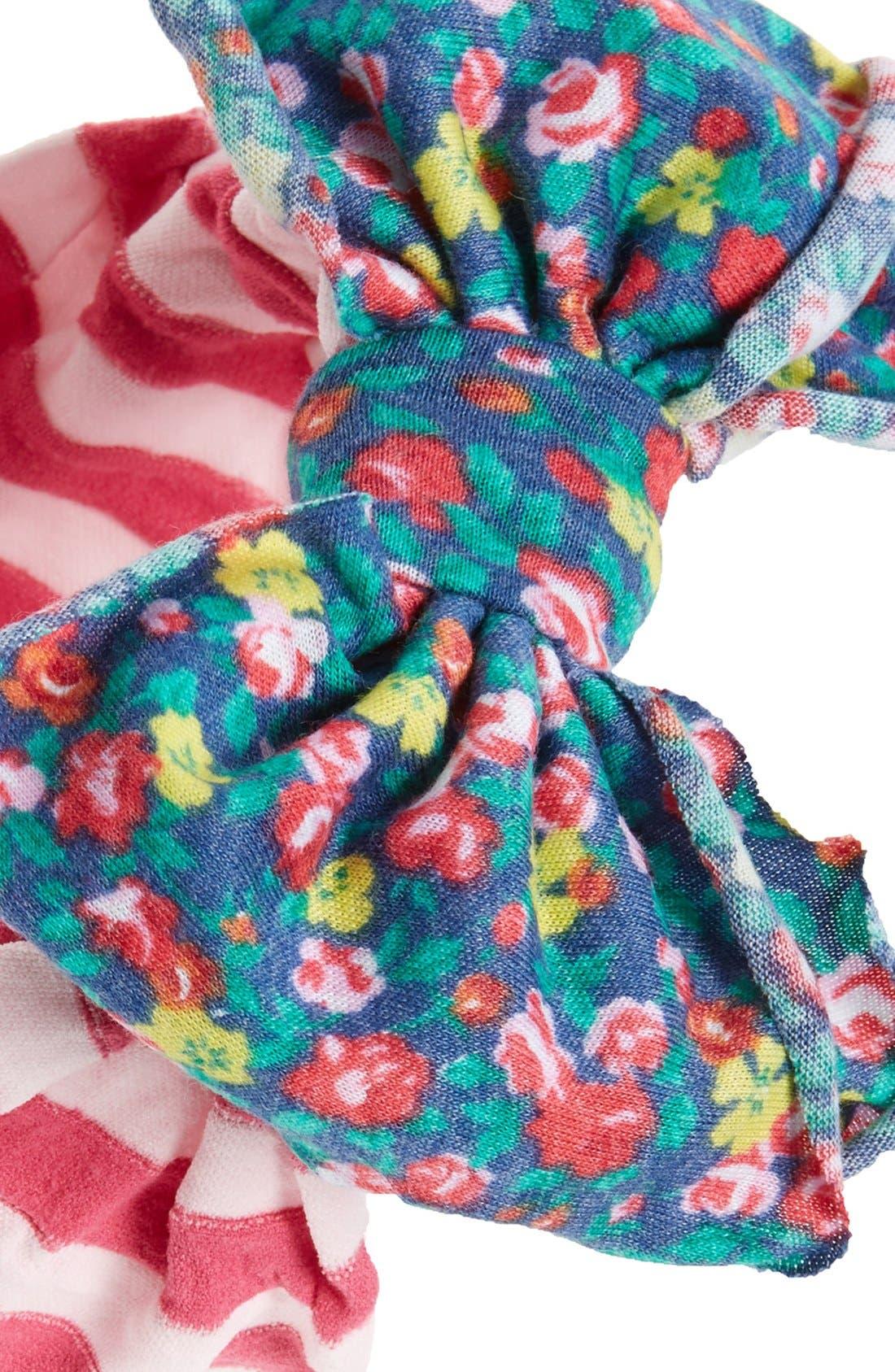 Jersey Bow Headband,                             Alternate thumbnail 23, color,