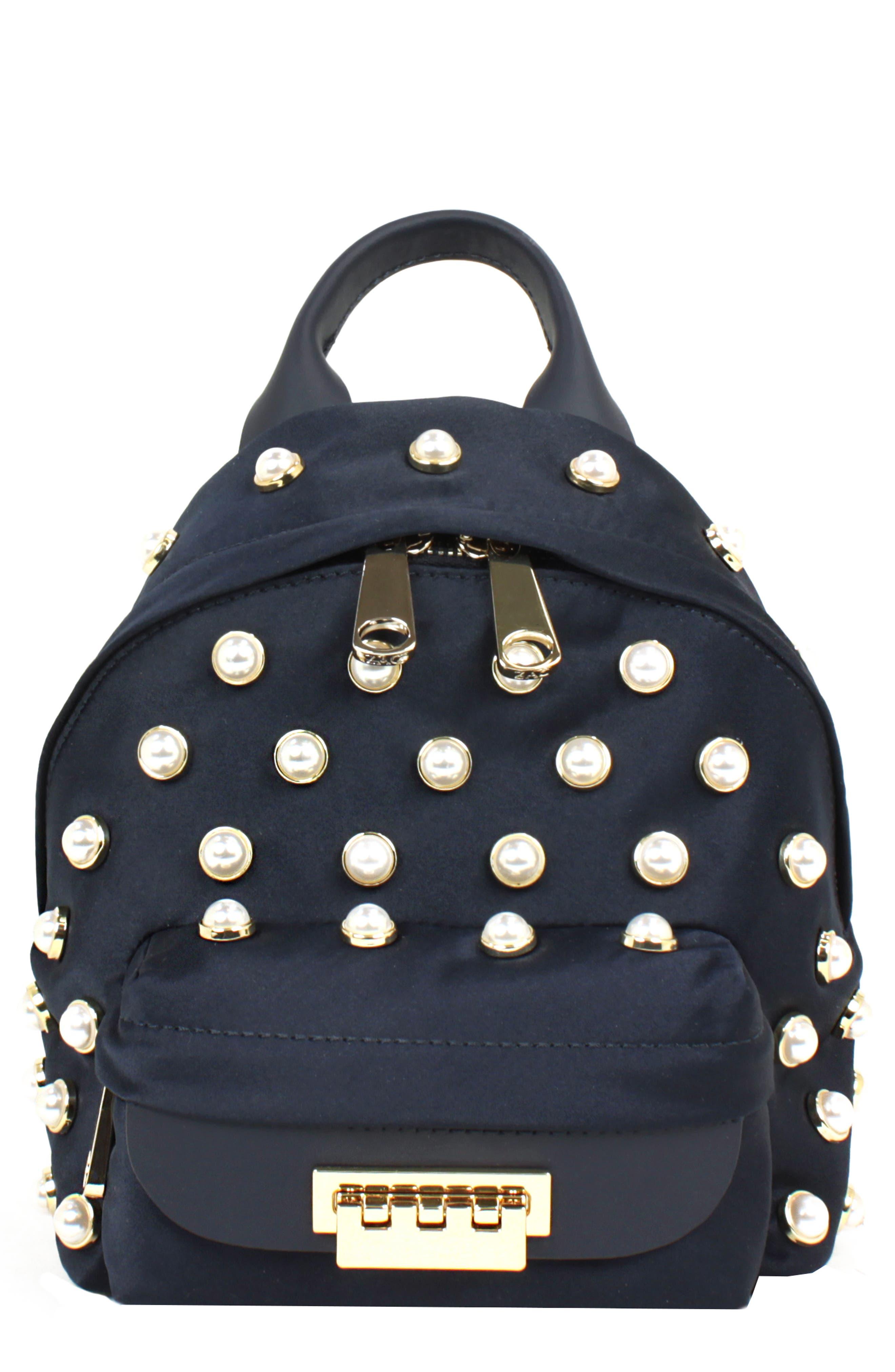 Eartha Iconic Micro Chain Backpack,                         Main,                         color, PARISIAN NIGHTS