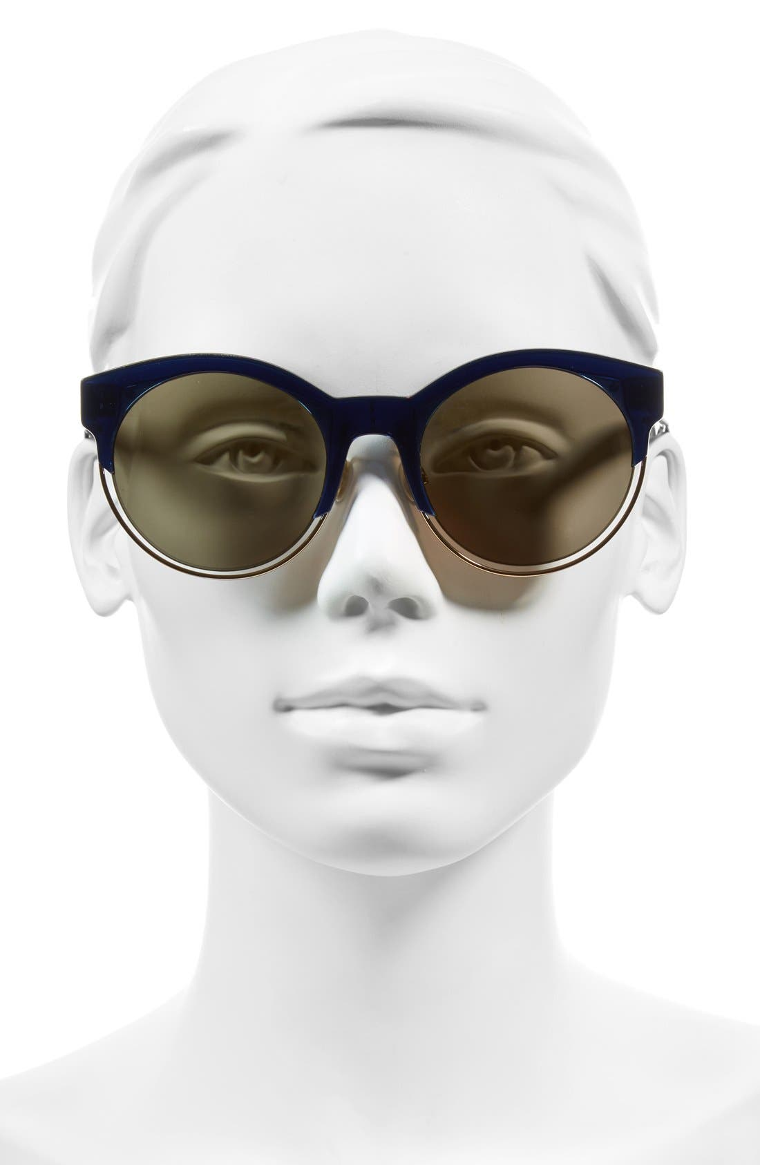 Siderall 1 53mm Round Sunglasses,                             Alternate thumbnail 15, color,