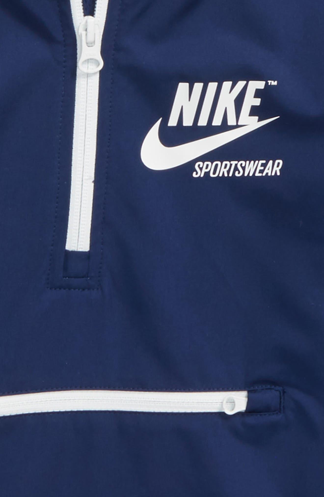 Sportswear Quarter Zip Hoodie,                             Alternate thumbnail 3, color,