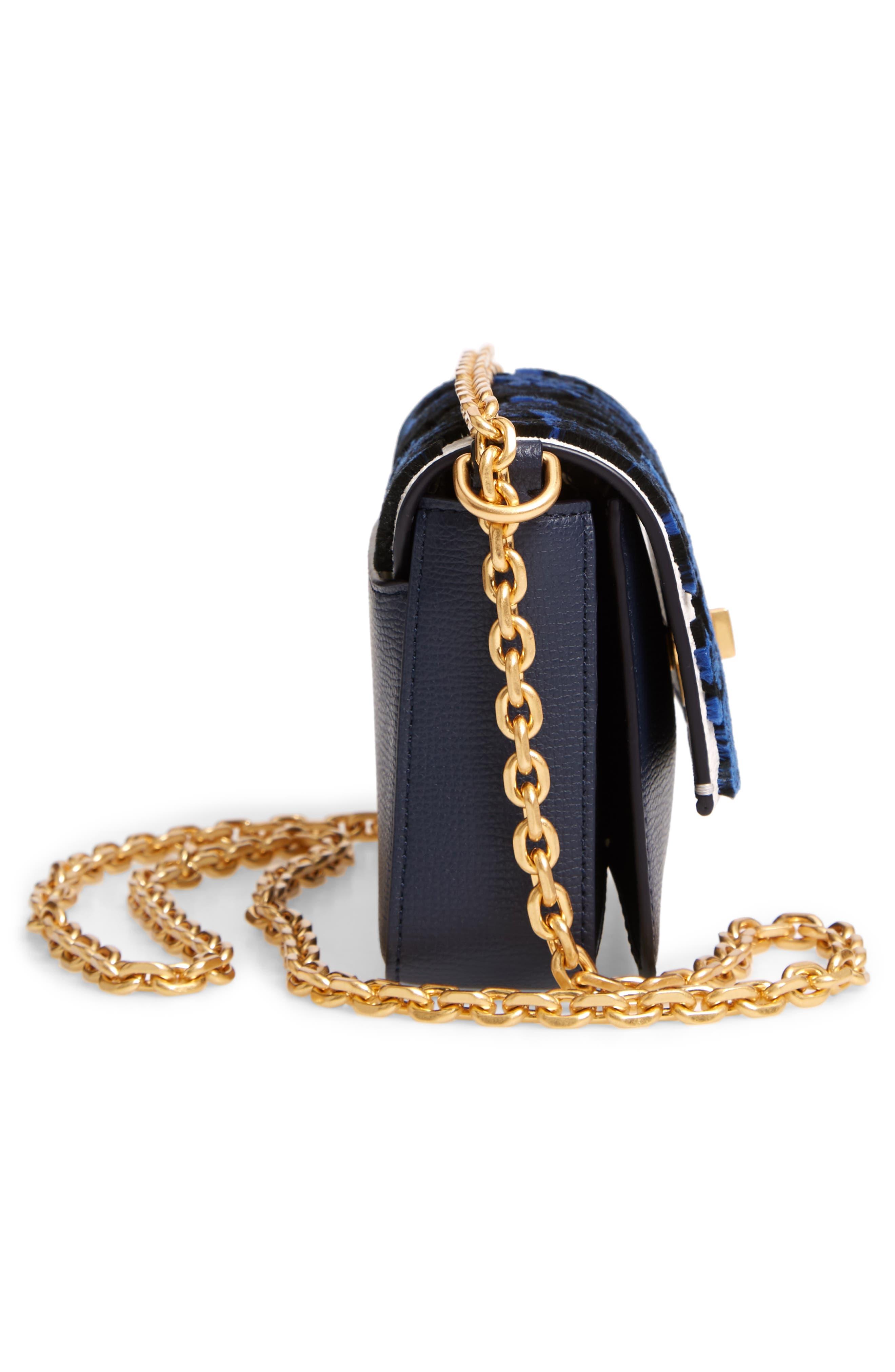 Mini Kira Leather & Fil Coupé Bag,                             Alternate thumbnail 5, color,                             NEUTRAL HAPPY TIMES