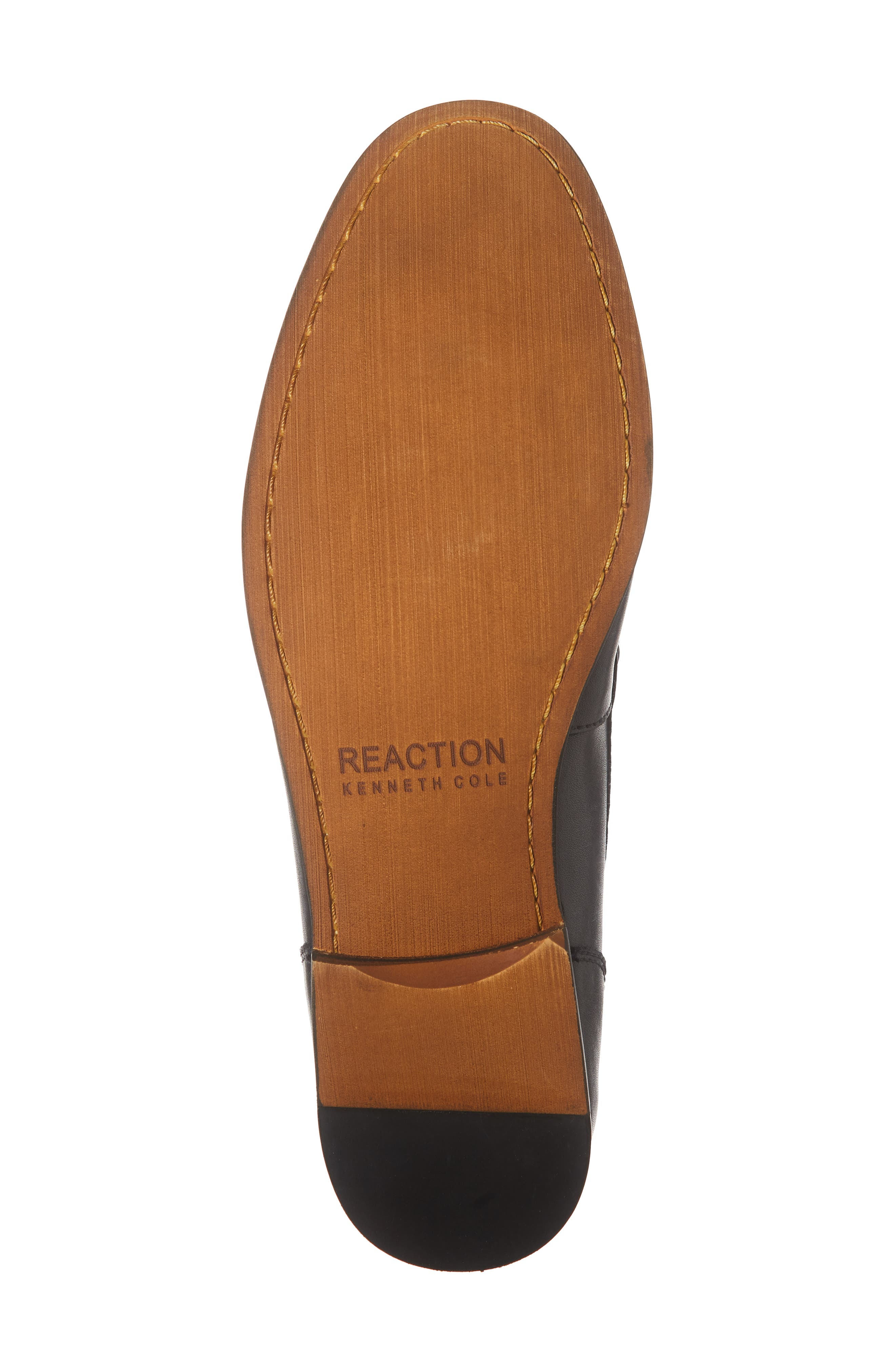 Crespo Loafer,                             Alternate thumbnail 6, color,                             BLACK SYNTHETIC LEATHER