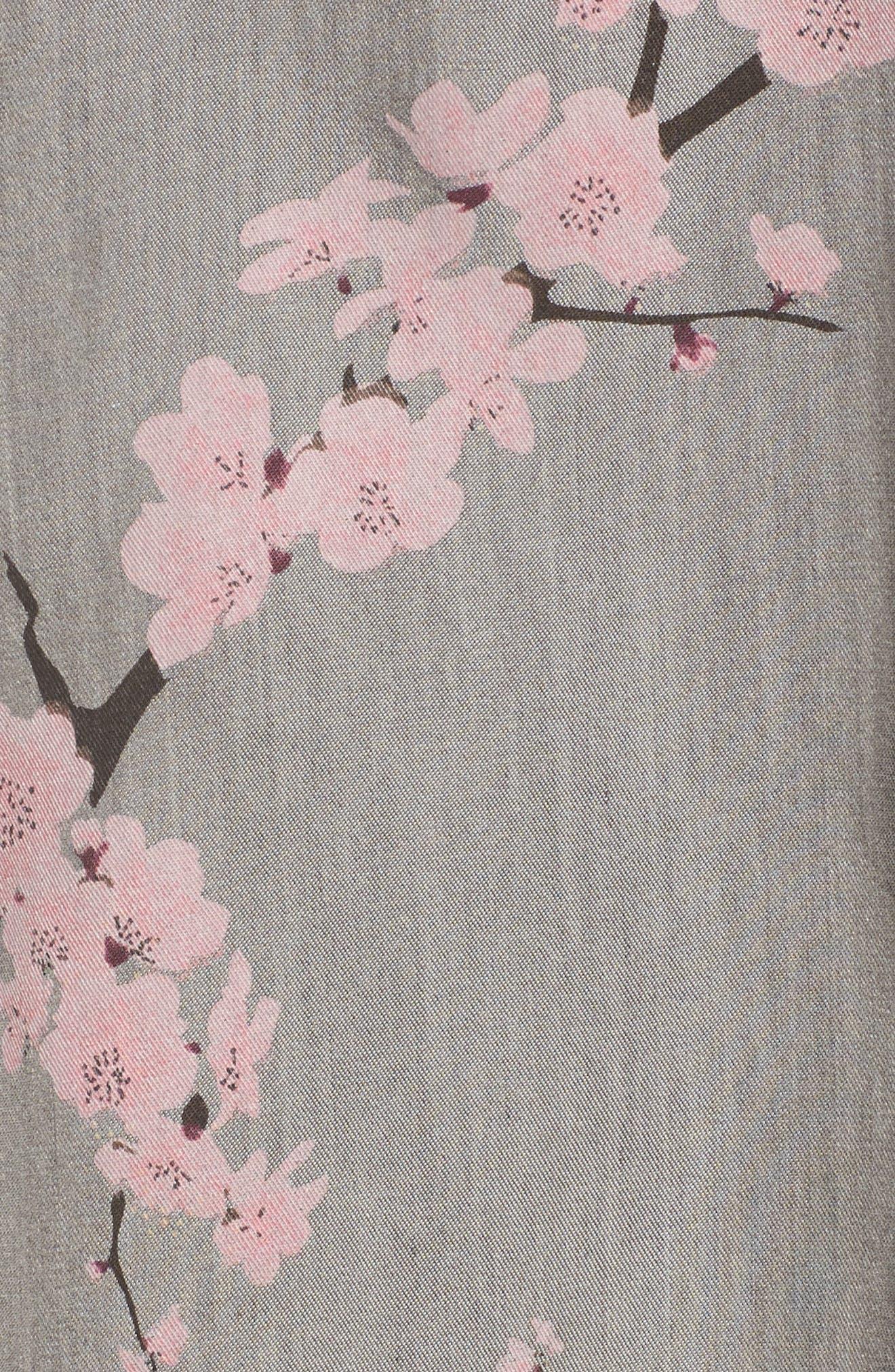 Cherry Blossom Kimono,                             Alternate thumbnail 7, color,                             020