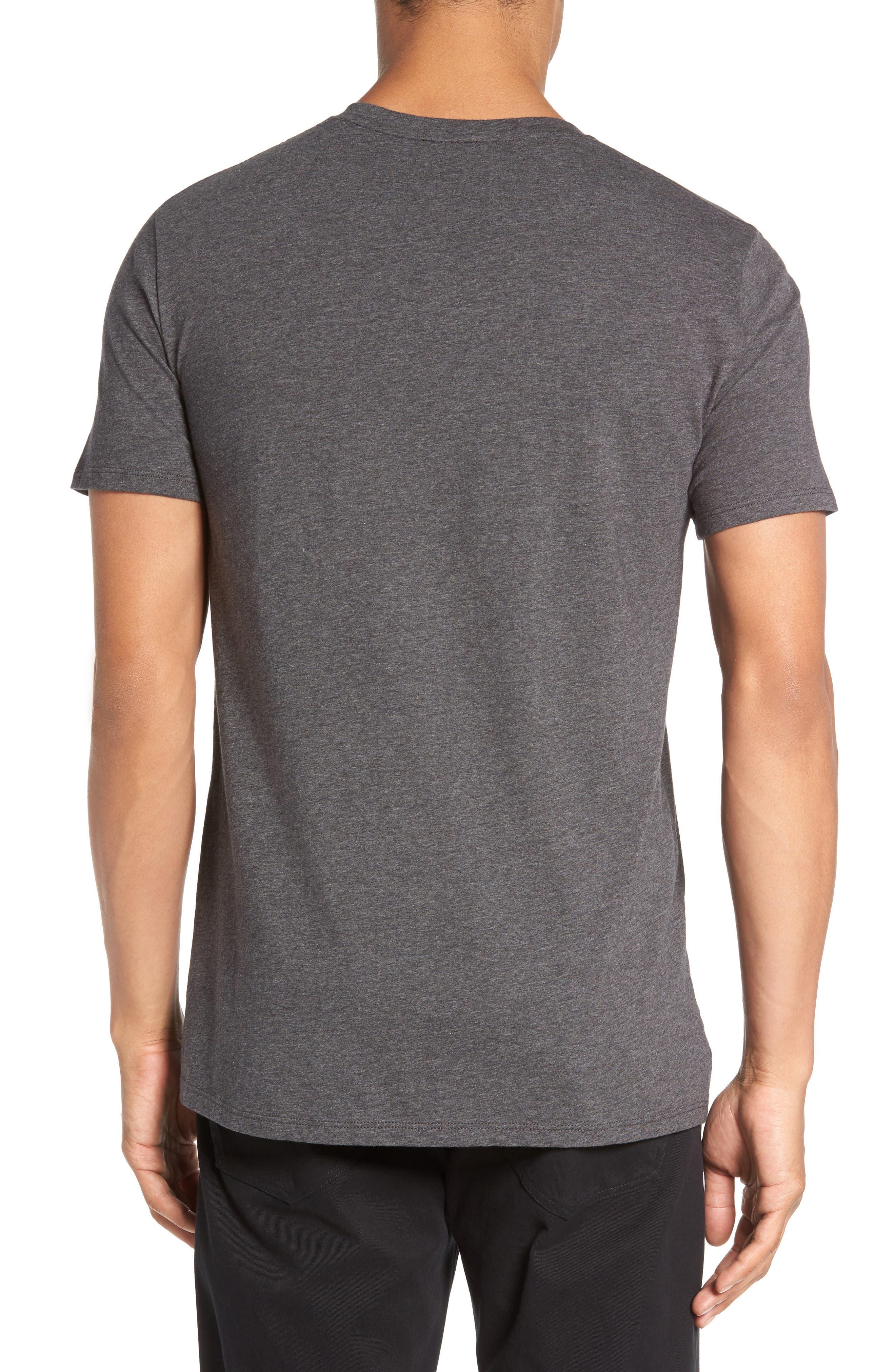 Crewneck T-Shirt,                             Alternate thumbnail 2, color,                             HEATHER CARBON