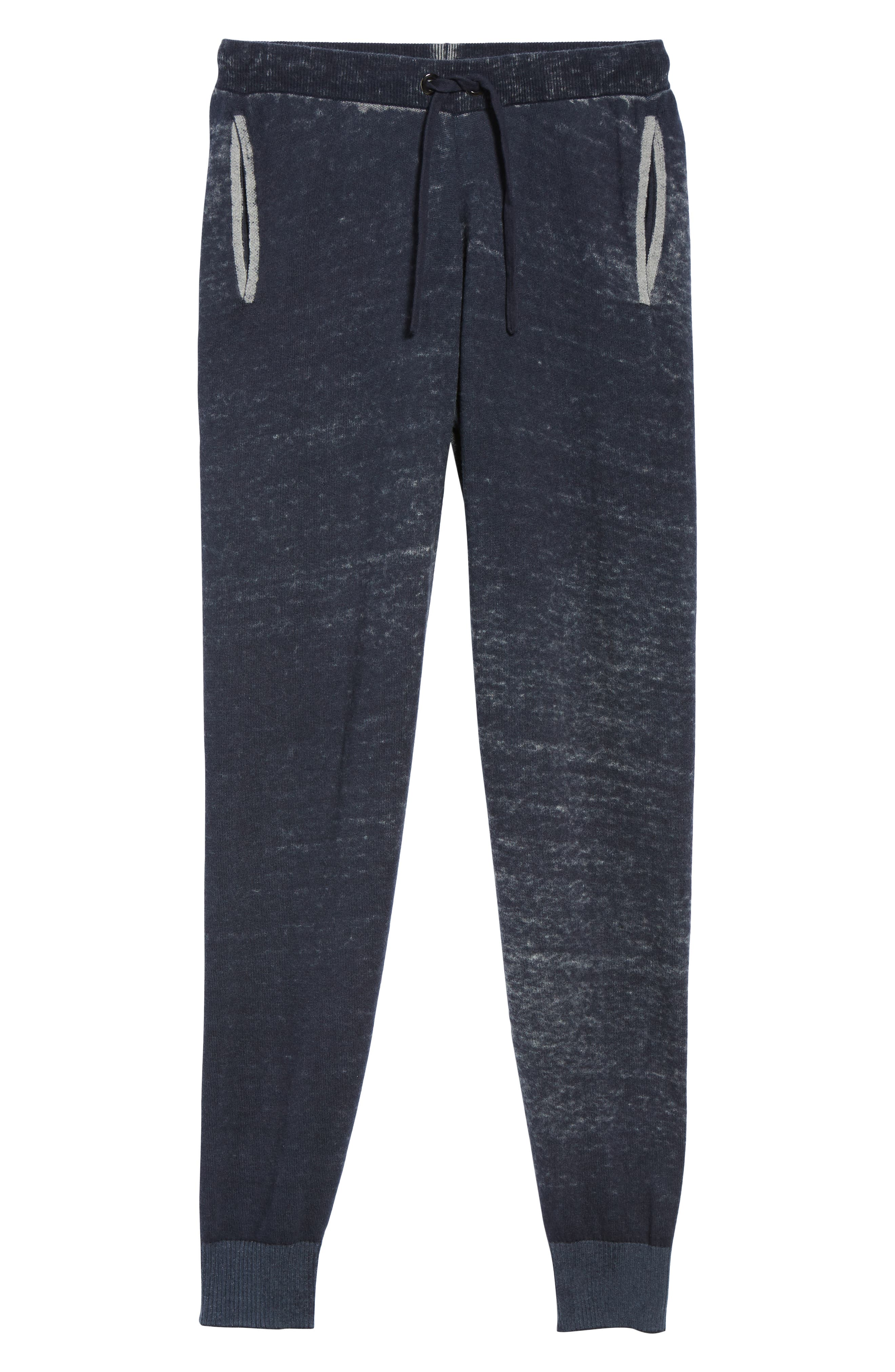 Kruse Rev Print Cash Sweatpants,                             Alternate thumbnail 6, color,                             MOONLESS NIGHT
