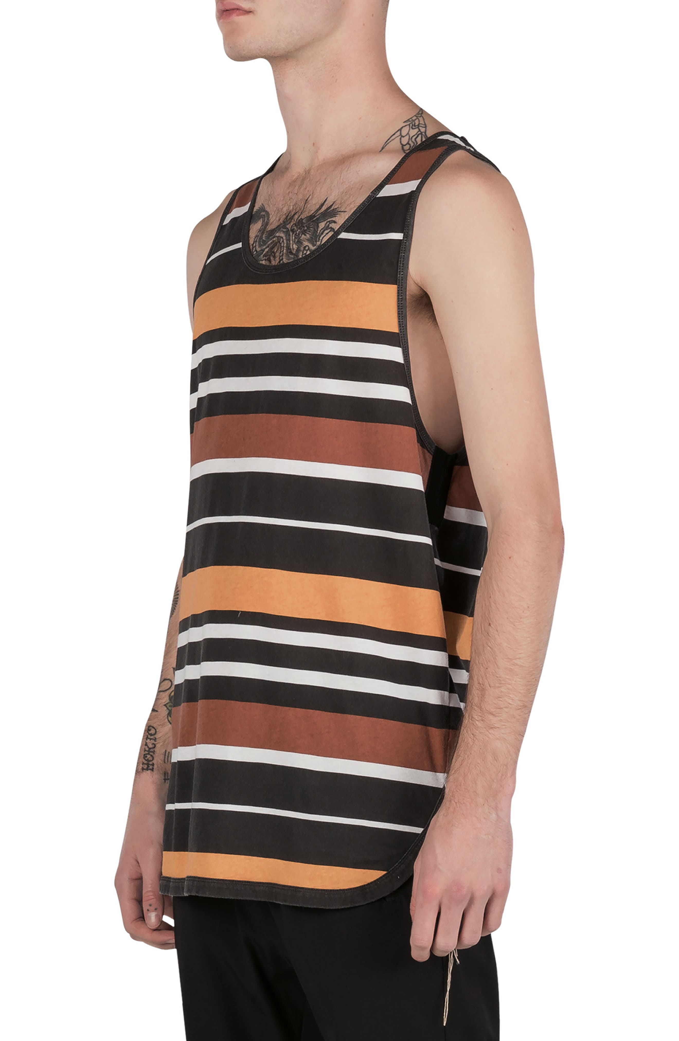 Rugby Stripe Rugger Tank,                             Alternate thumbnail 6, color,