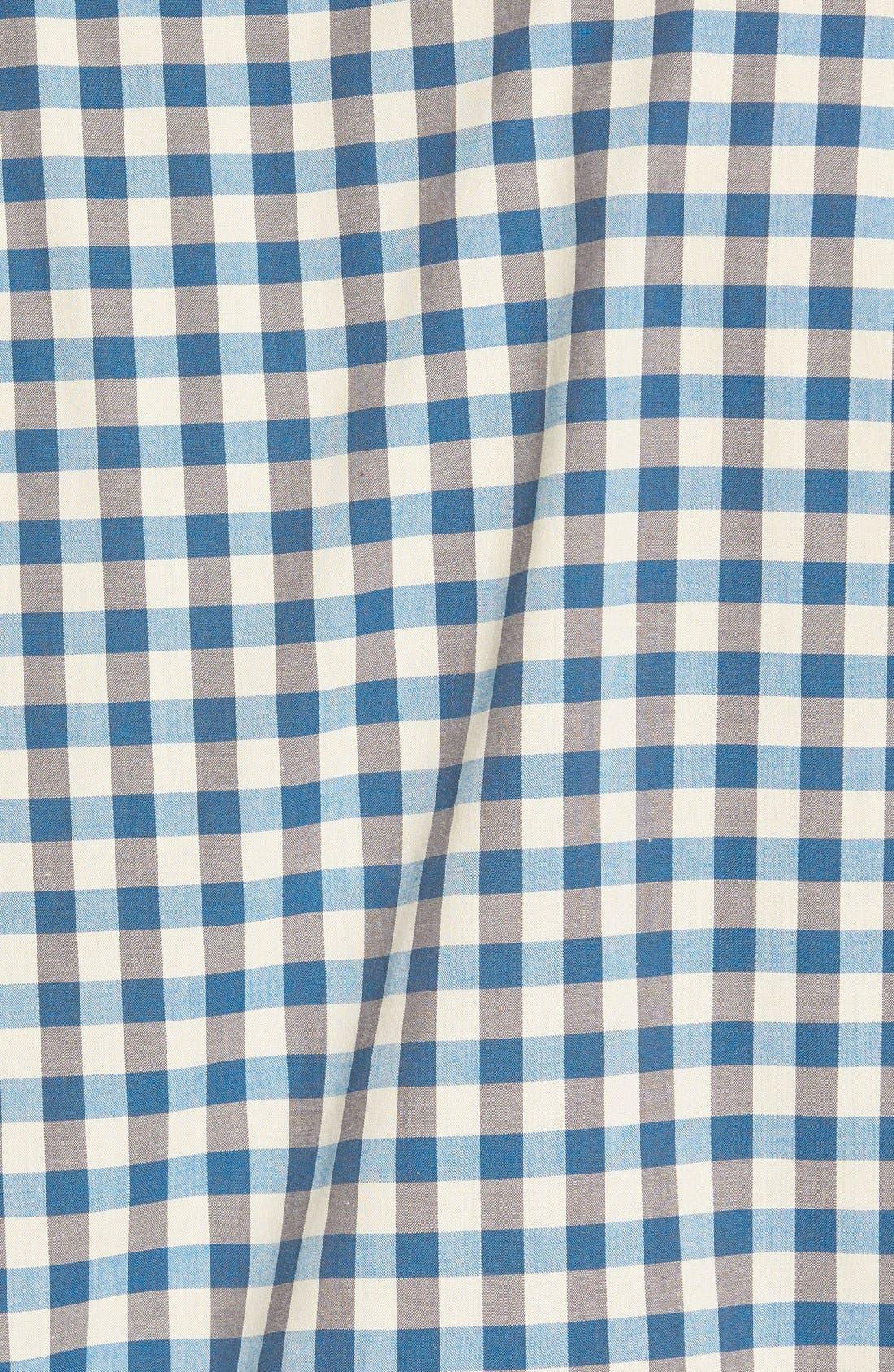 'Wildwood' Regular Fit Check Sport Shirt,                             Alternate thumbnail 4, color,