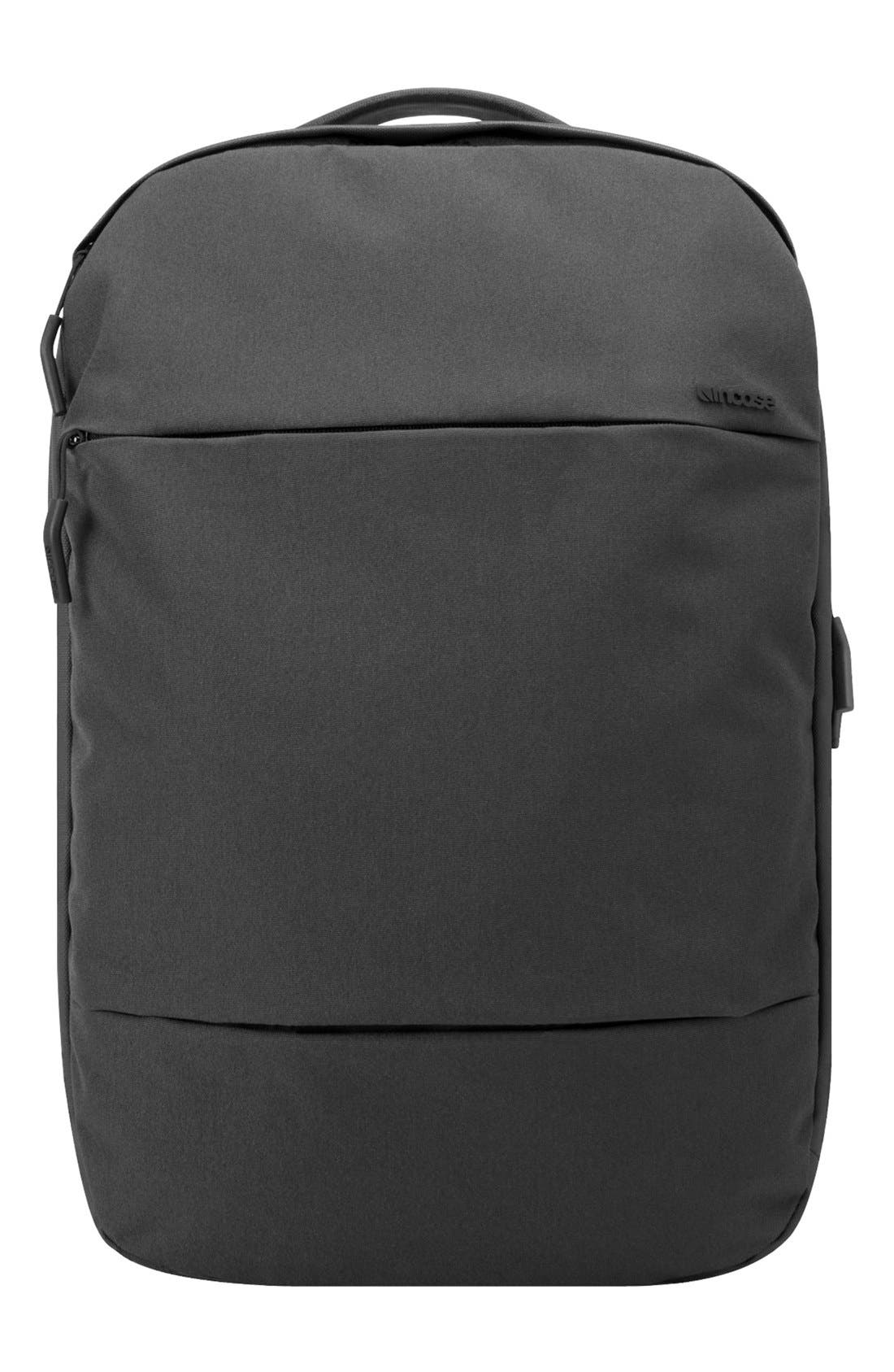 City Compact Backpack,                         Main,                         color, 001