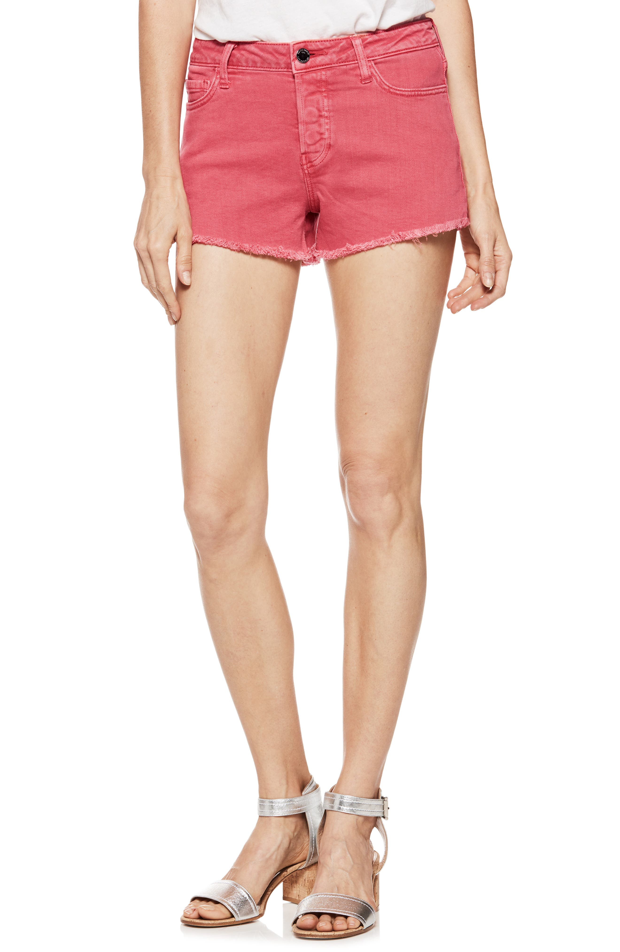 Emmit Relaxed Denim Shorts,                             Main thumbnail 1, color,                             601