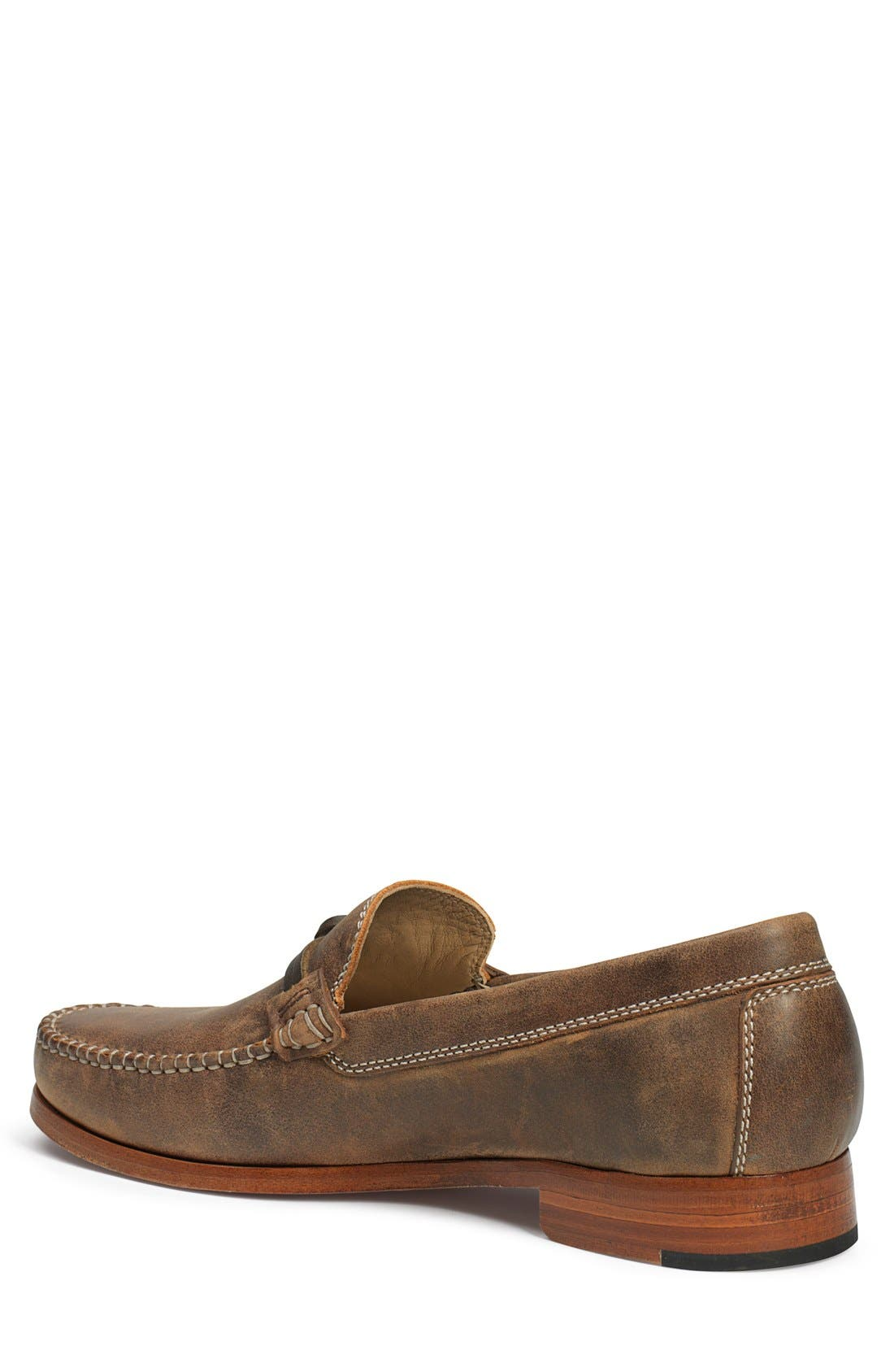 'Seth' Loafer,                             Alternate thumbnail 2, color,                             BROWN