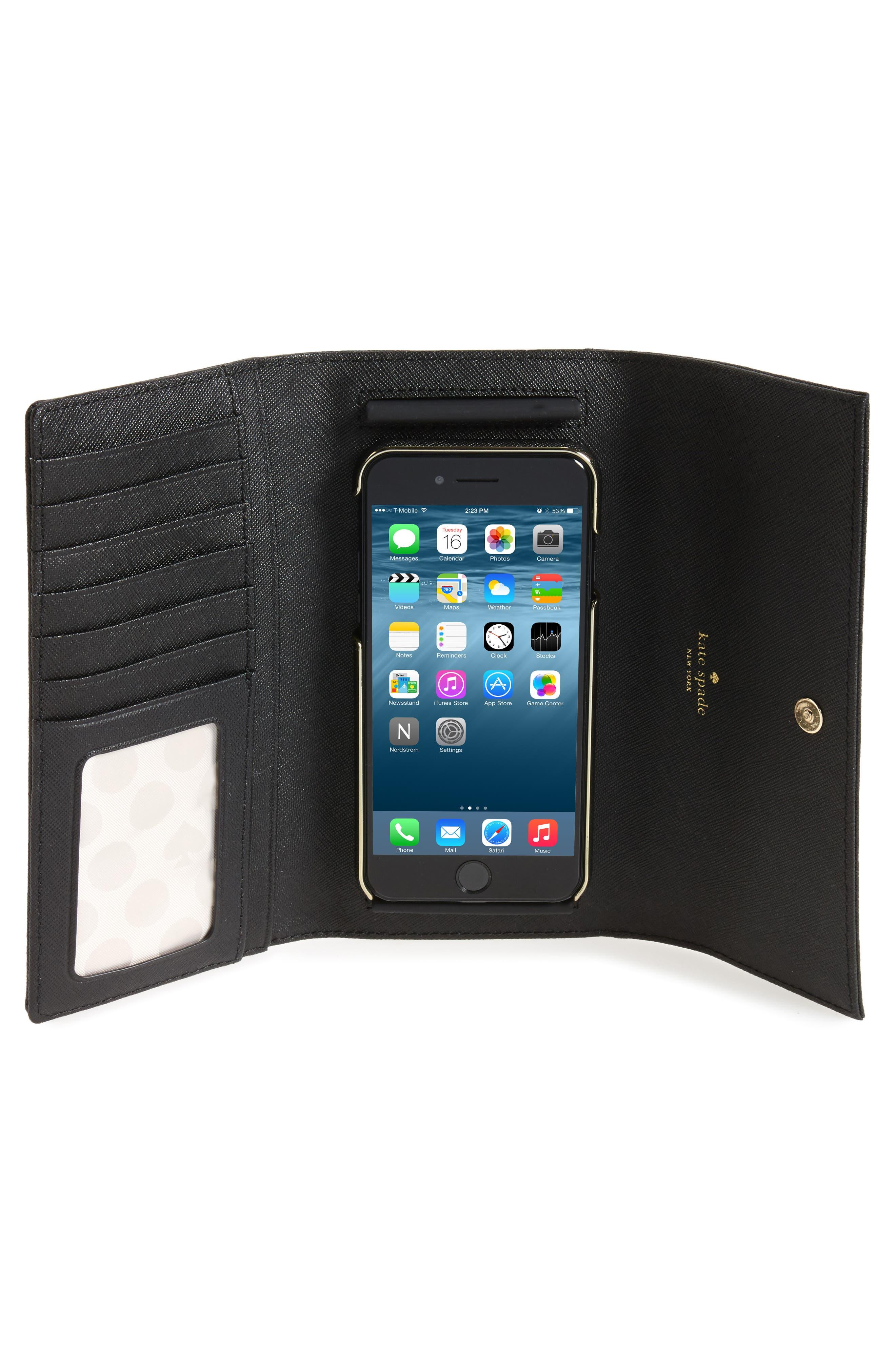 leather iPhone 7/8 & 7/8 Plus case,                             Alternate thumbnail 18, color,