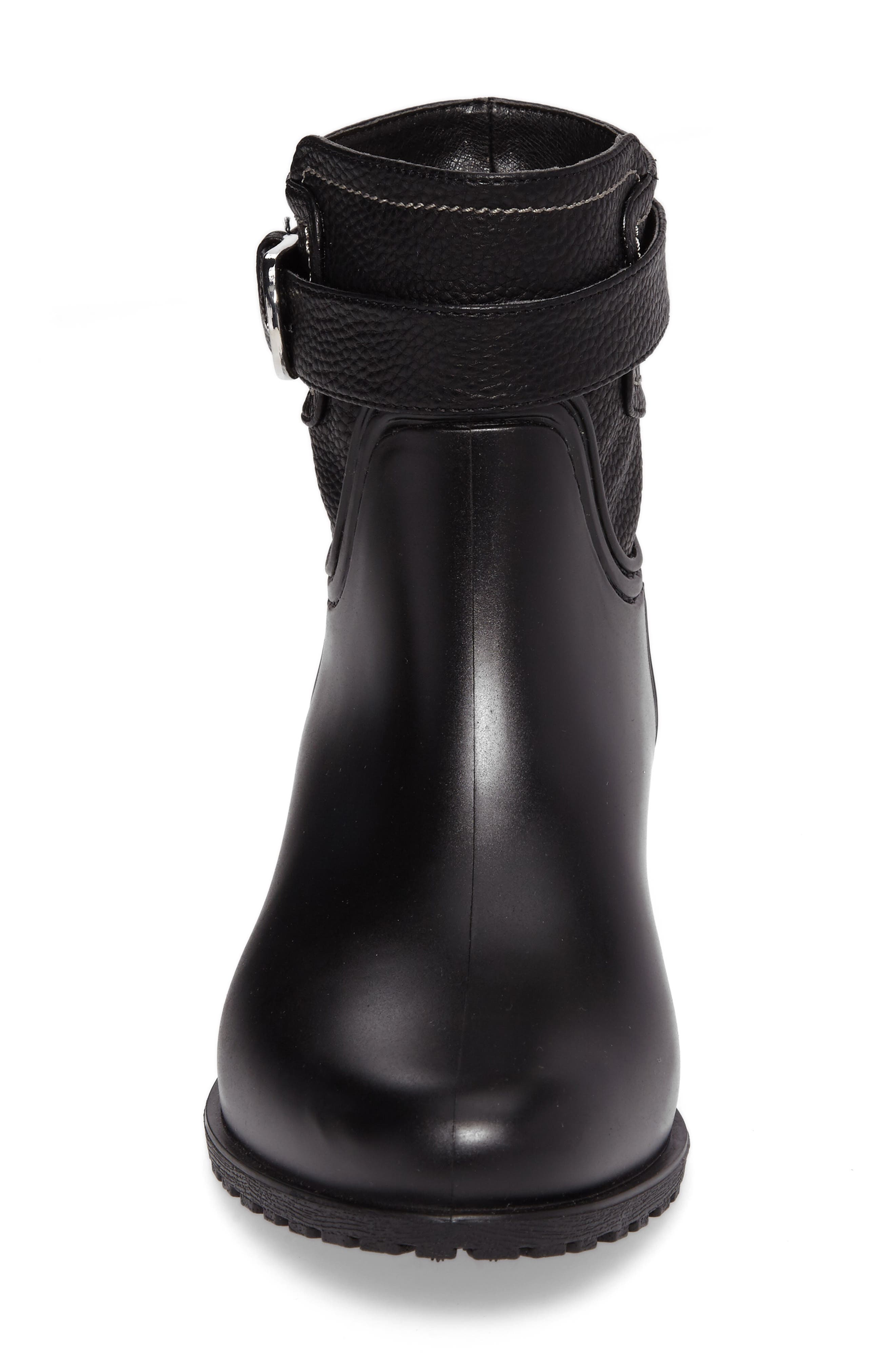 Bowie Faux Water Resistant Mid Boot,                             Alternate thumbnail 4, color,                             001