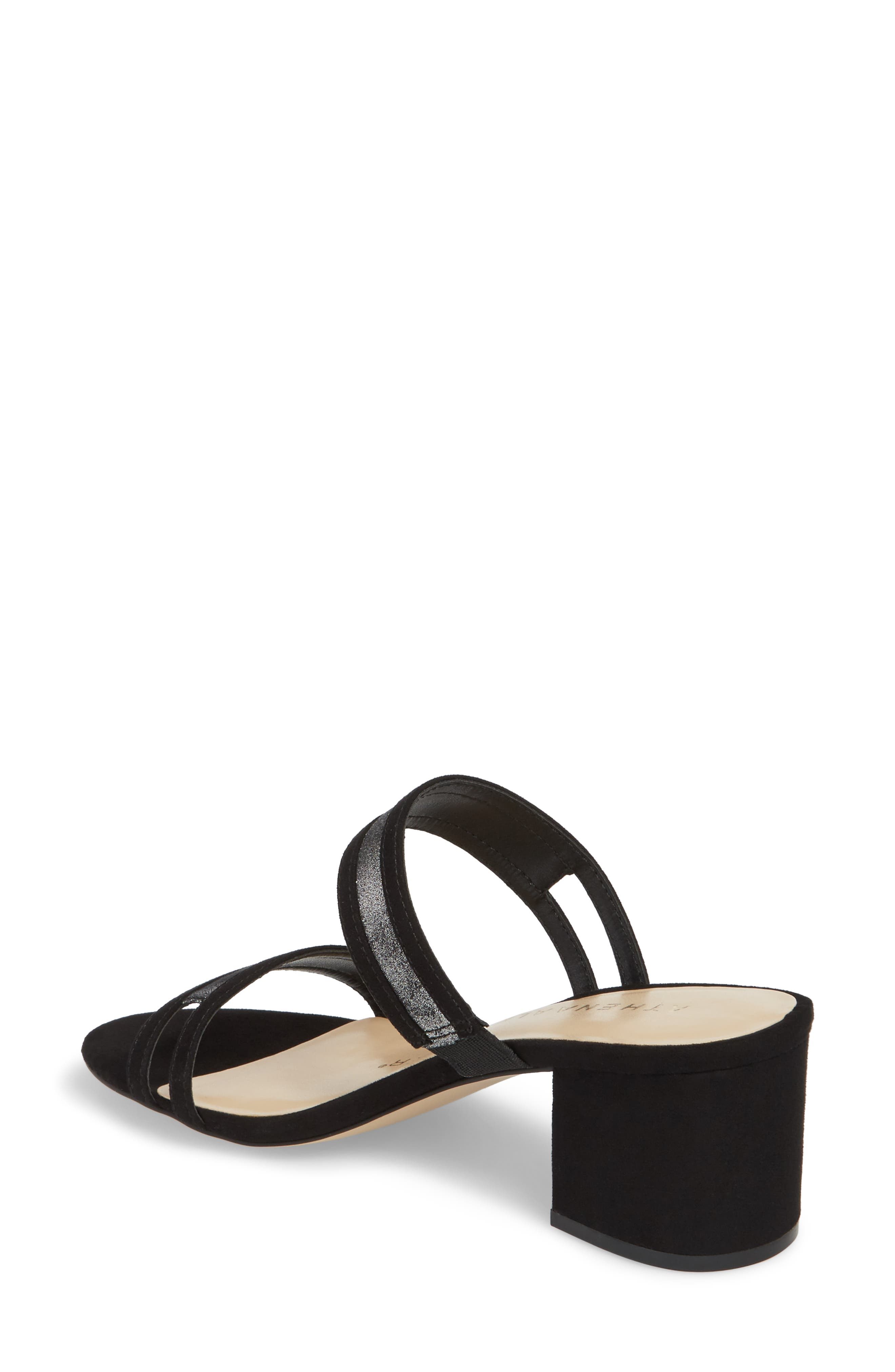 ATHENA ALEXANDER,                             Zayden Double Band Sandal,                             Alternate thumbnail 2, color,                             003