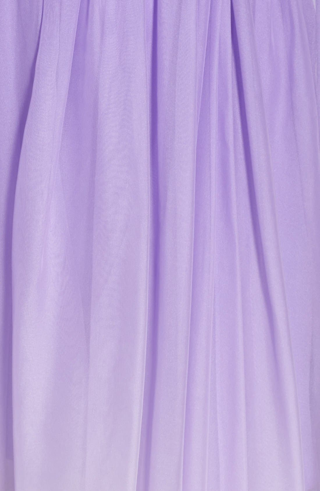 Ombré Chiffon Gown,                             Alternate thumbnail 3, color,                             530