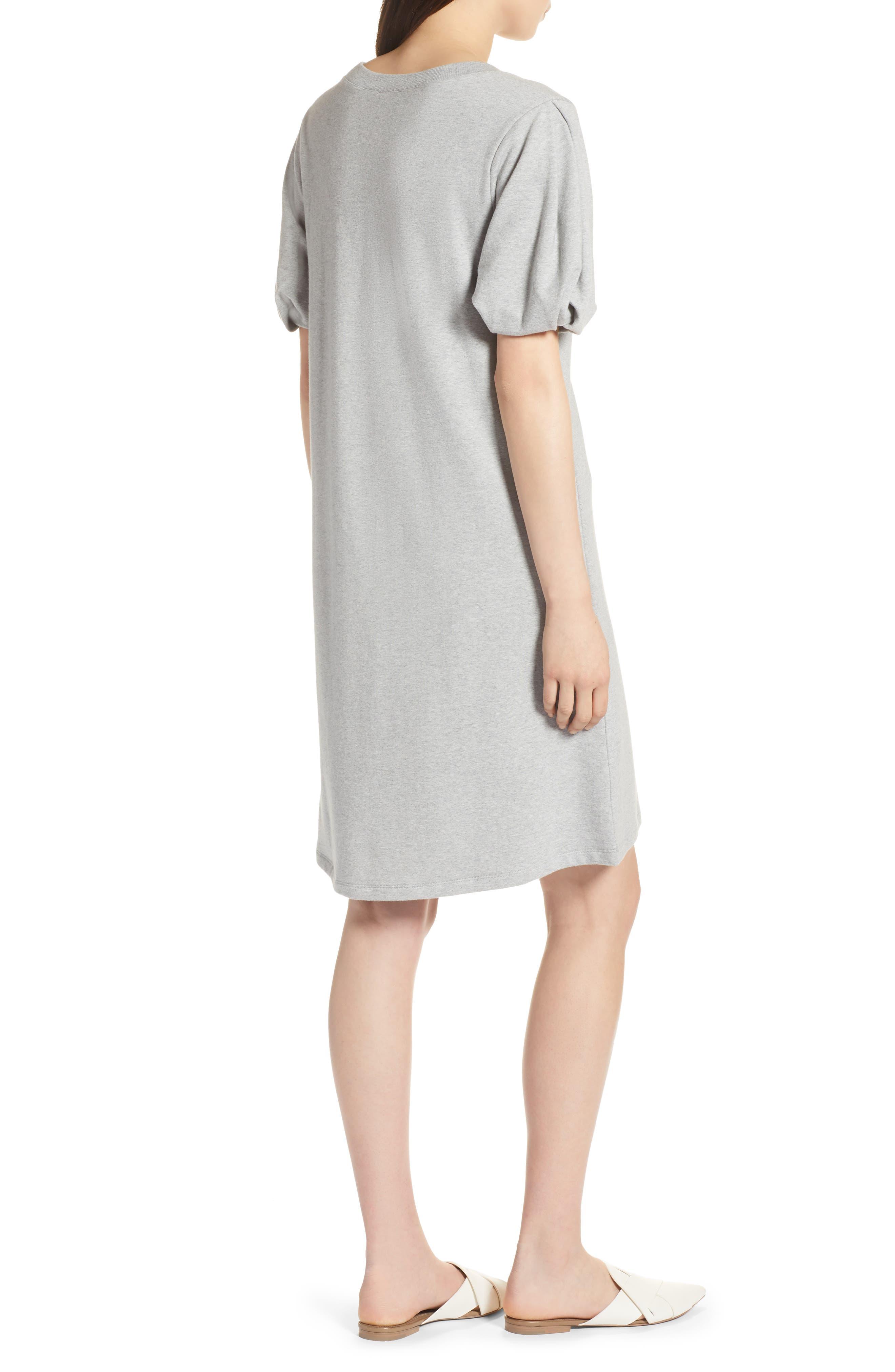 Bubble Sleeve Dress,                             Alternate thumbnail 8, color,